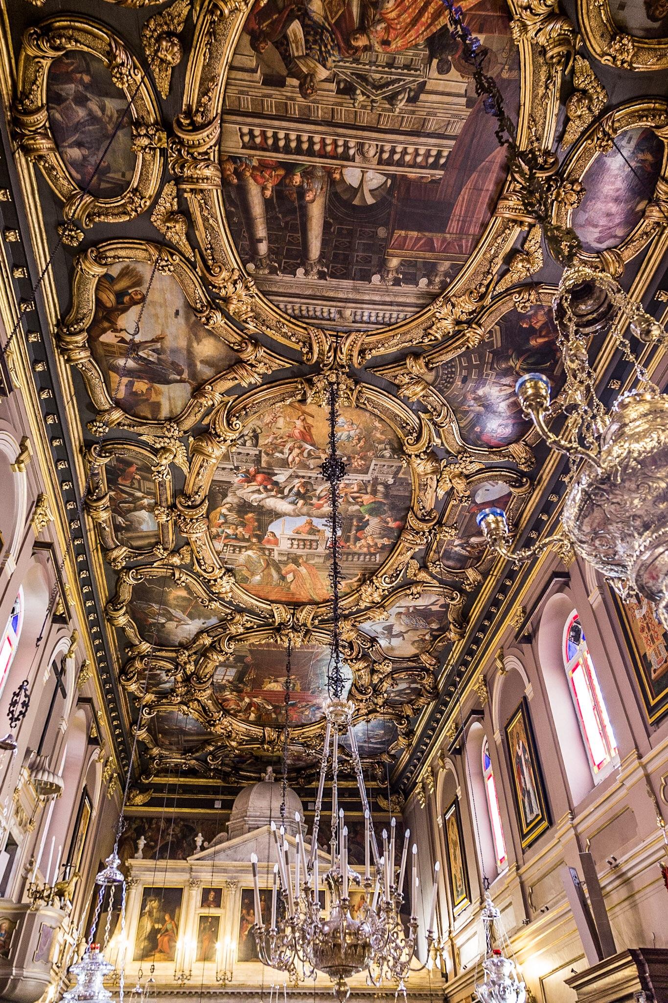 Church, Corfu Town by interior photographer Rick McEvoy
