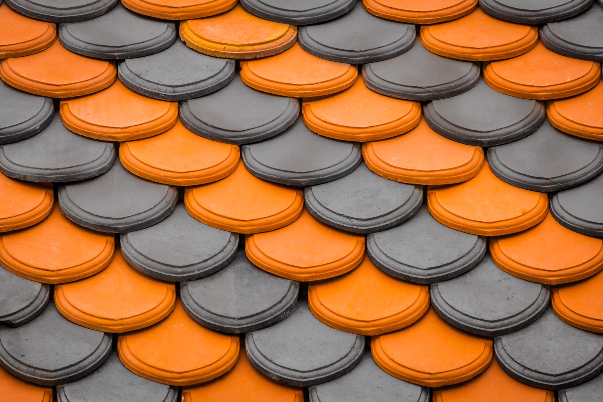 Roof tiles, Chideock - construction photography in Dorset by Rick McEvoy