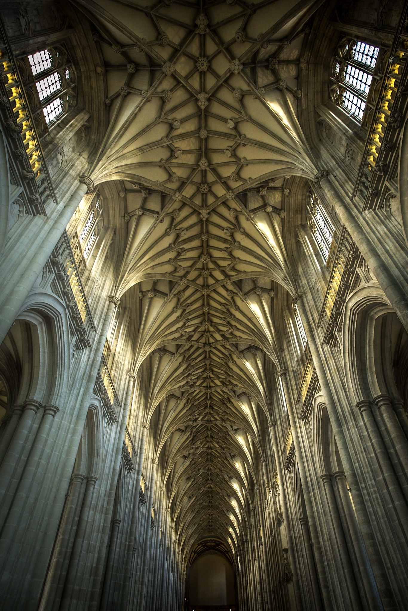 Winchester Cathedral - architectural photography in Hampshire