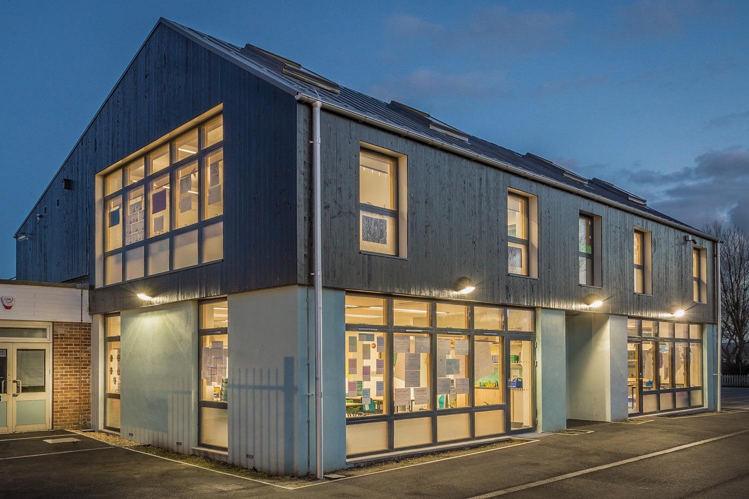 Hamworthy Park Junior School - architectural photography by Rick McEvoy