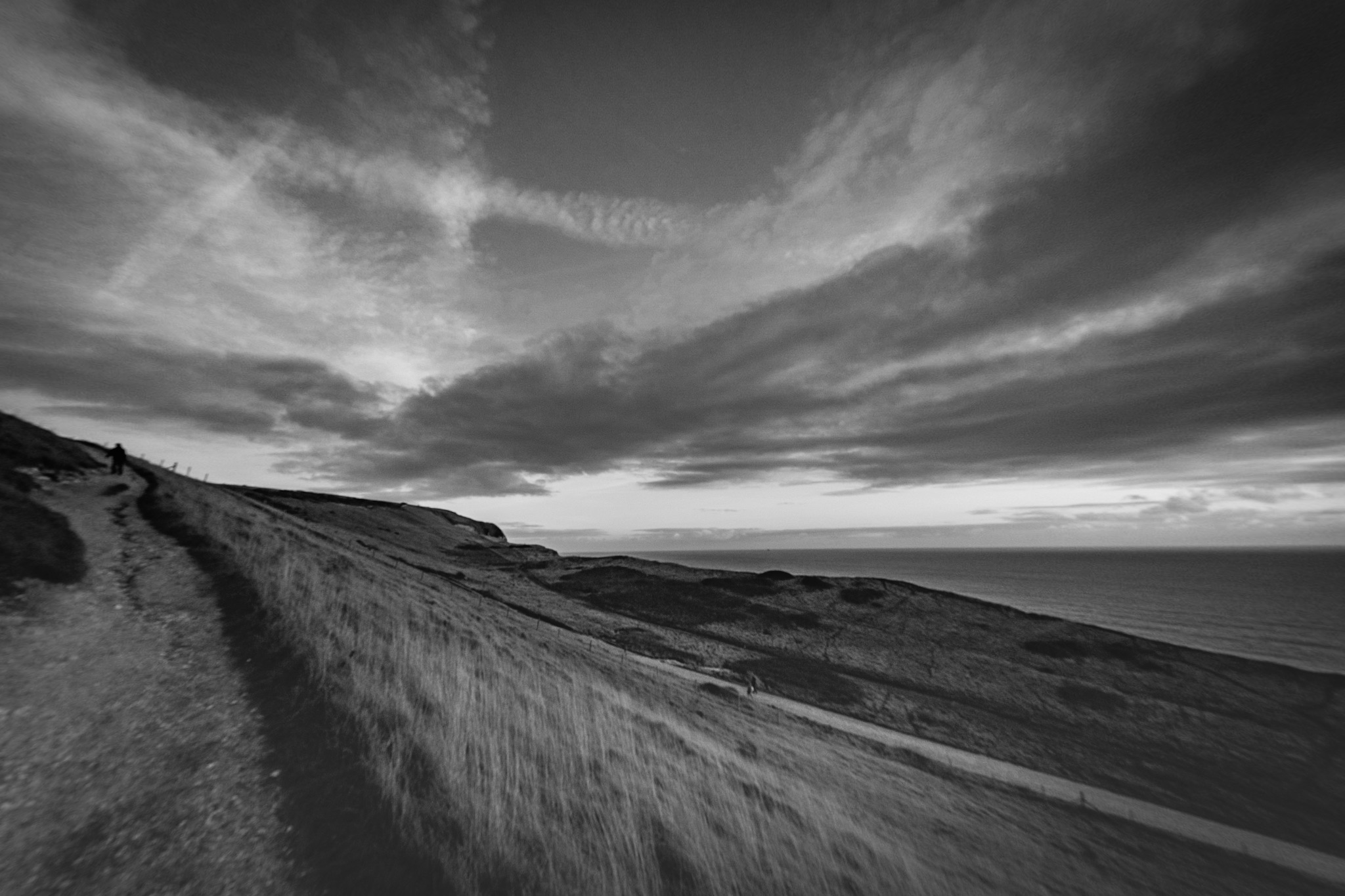 Black and white landsacpe photography in Dorset by Rick McEvoy
