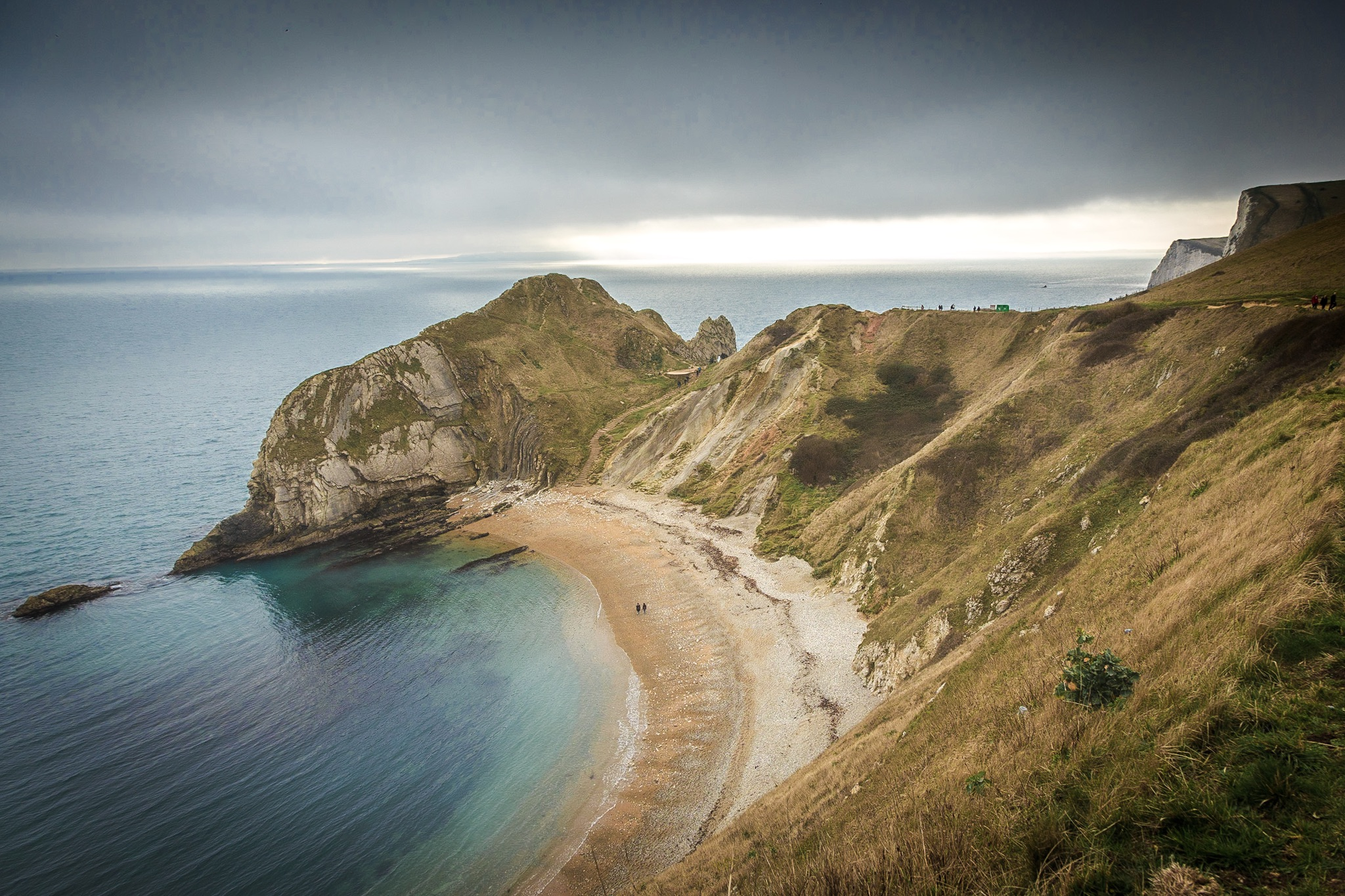 The view towards Durdle Door by Rick McEvoy Dorset Photographer
