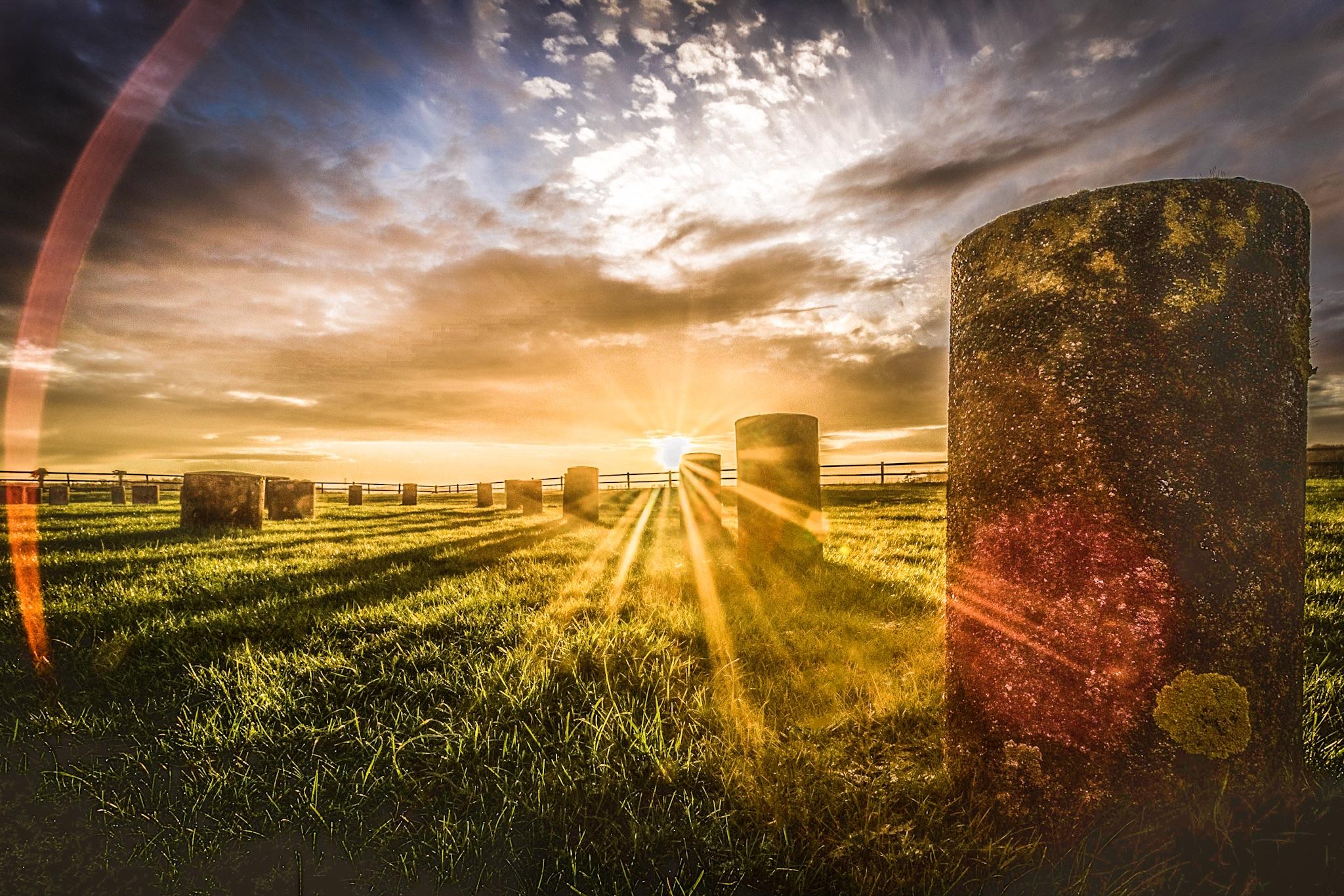Woodhenge by Rick McEvoy WIltshire Photographer