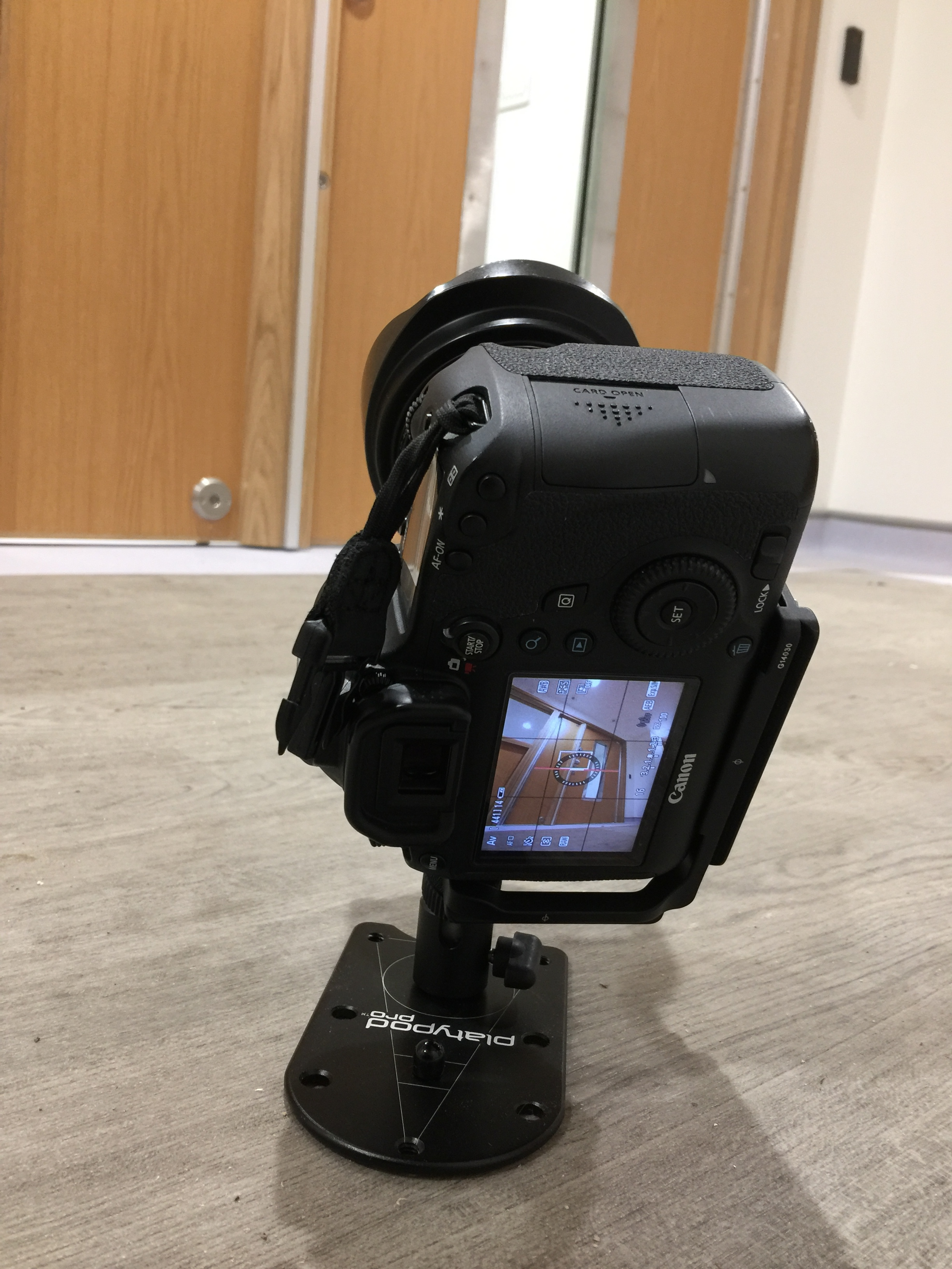 My Canon 6D on the Platypod Pro