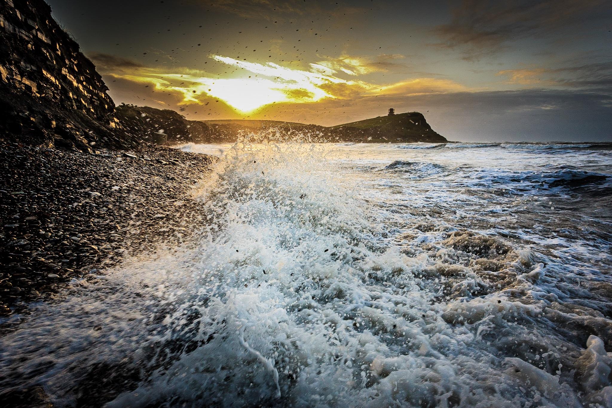 Kimmeridge Bay at sunrise by Rick McEvoy Dorset Photographer