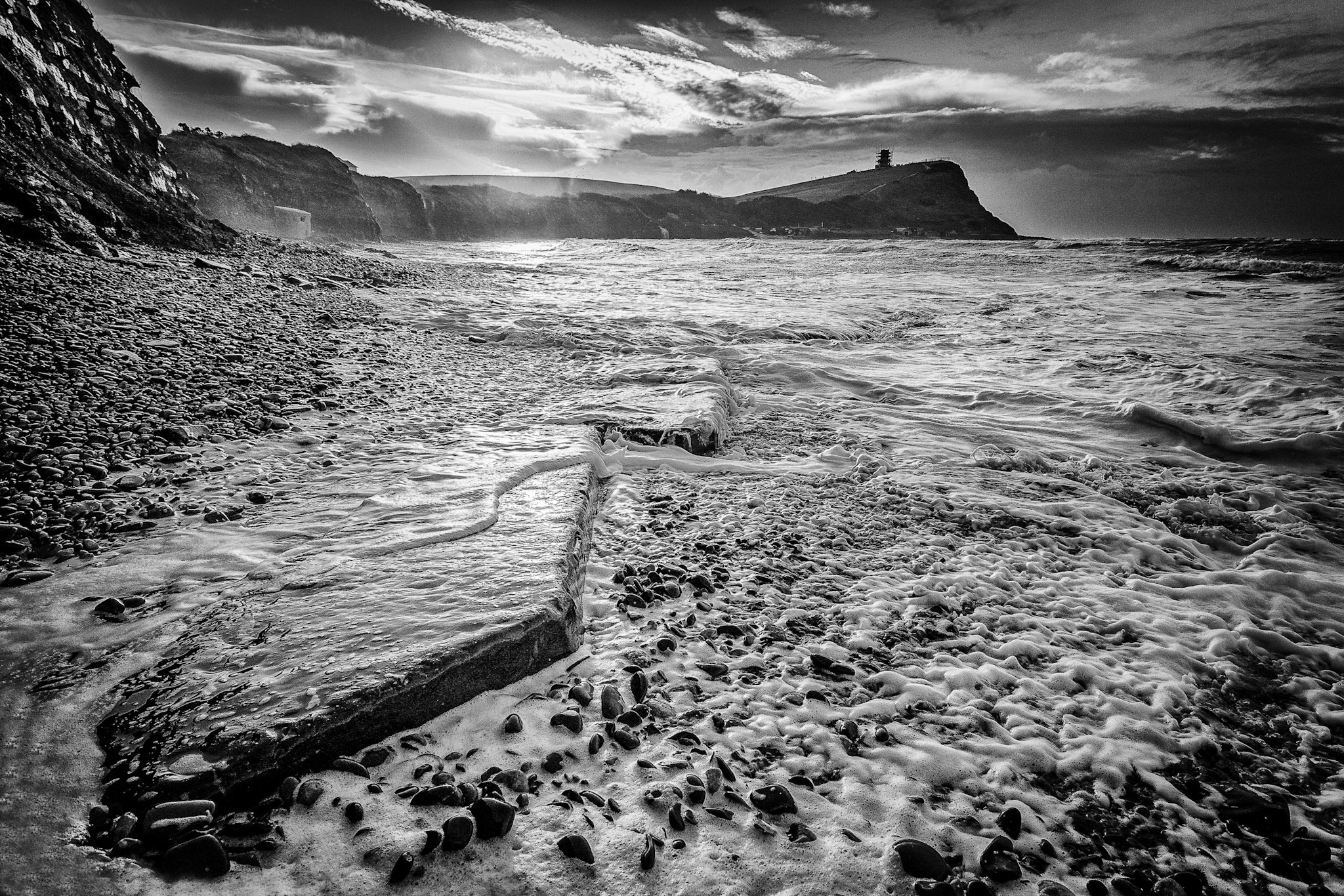 Kimmeridge Bay at sunrise by Rick McEvoy Dorset Photographer