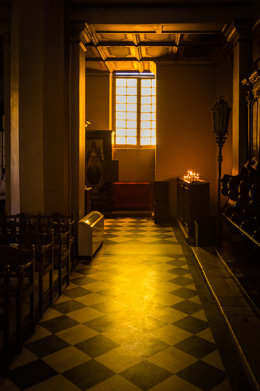 Light in a church by Rick McEvoy interior photographer