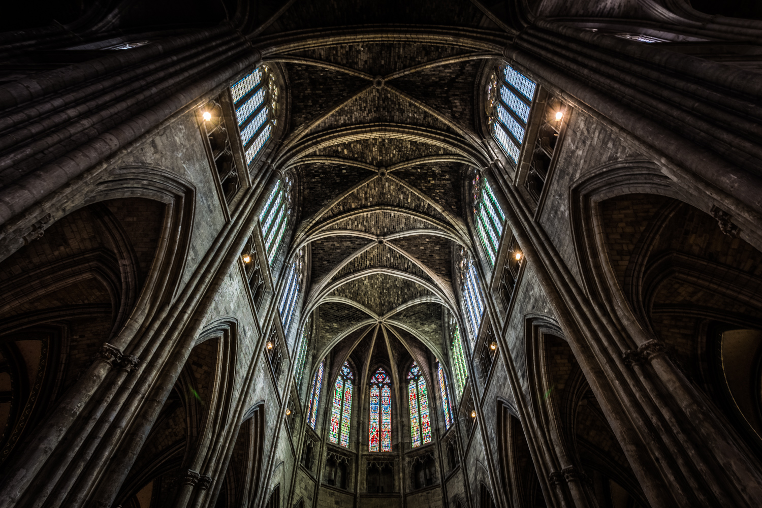 Bordeaux Cathedral by interior photographer Rick McEvoy