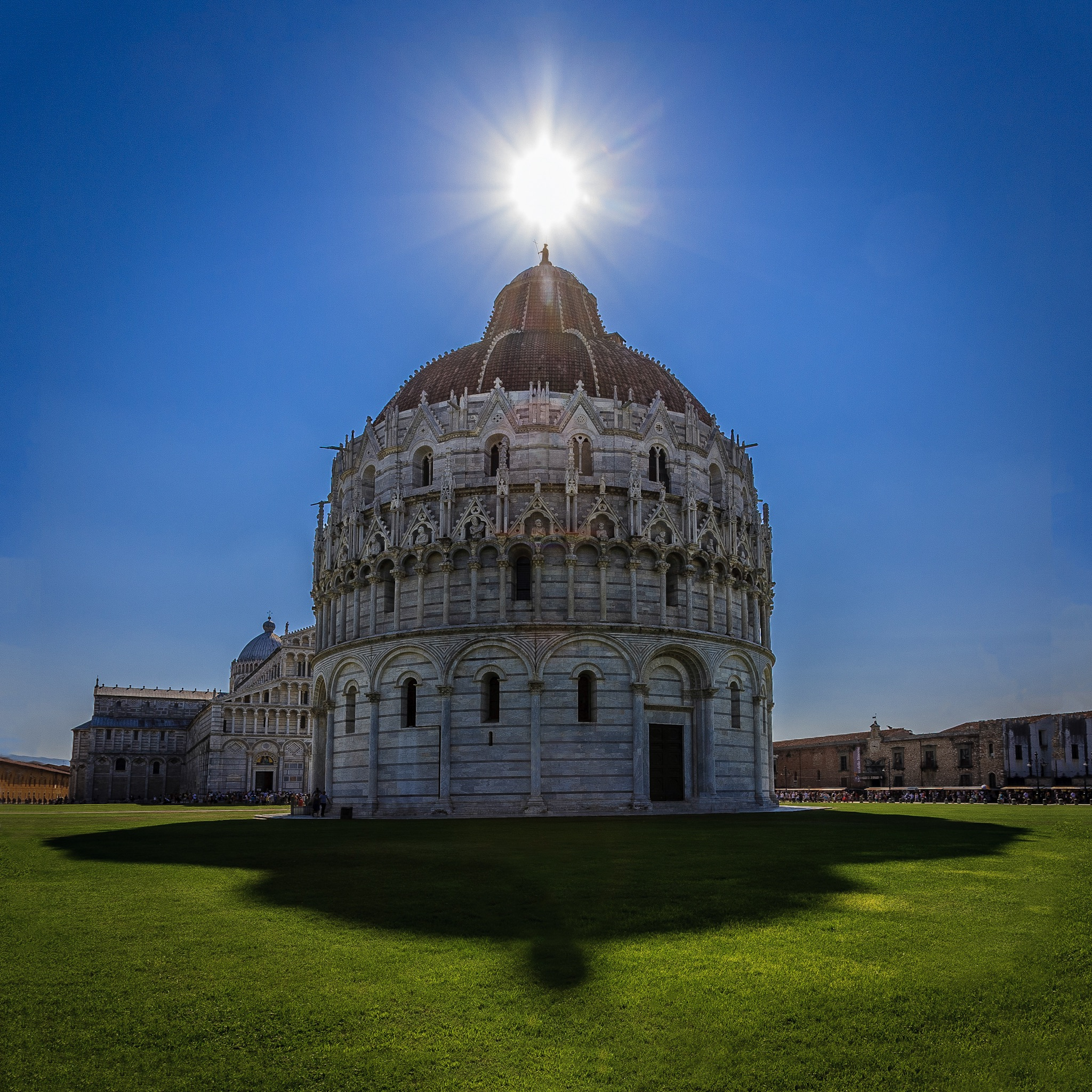 Picture of the Battistero di San Giovanni In Pisa by Rick McEvoy Architectural Photographer