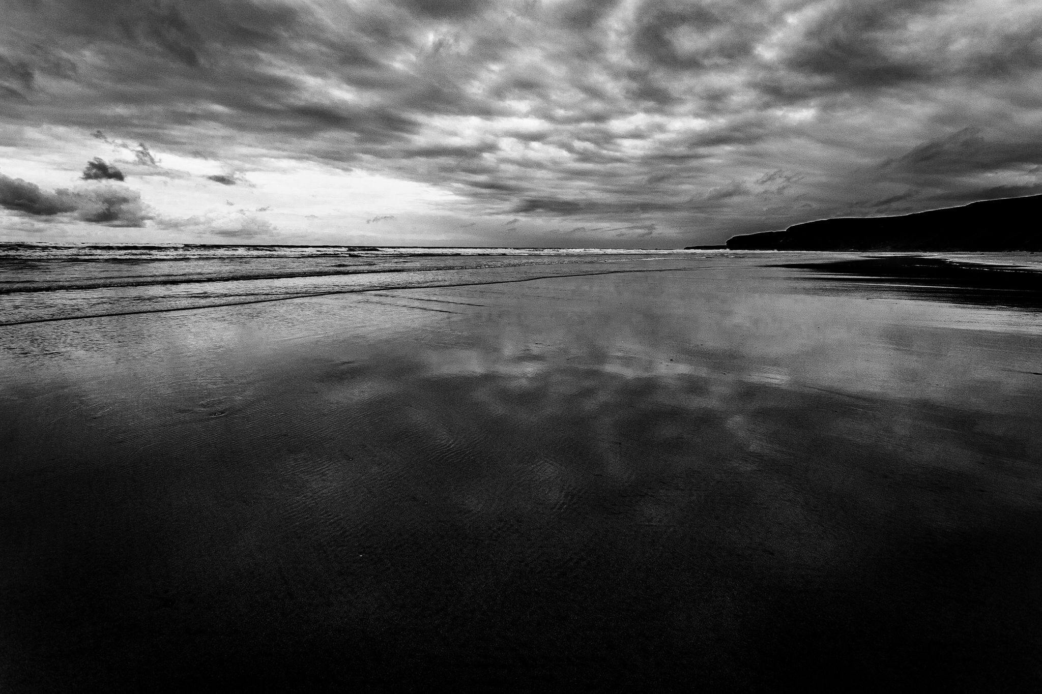 Watergate Bay Beach by Cornwall Photographer Rick McEvoy