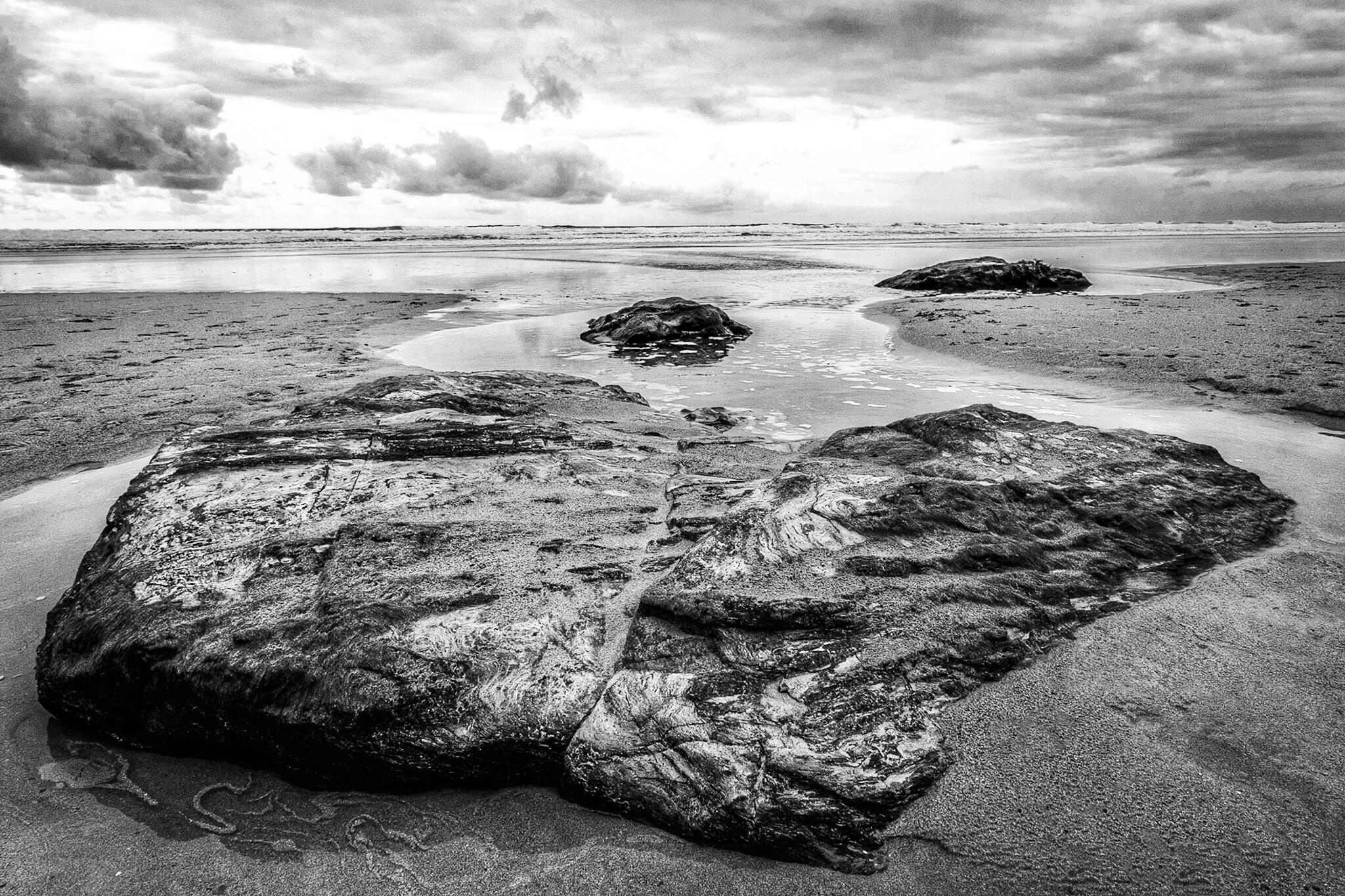 Watergate Bay beach by landscape photographer Rick McEvoy