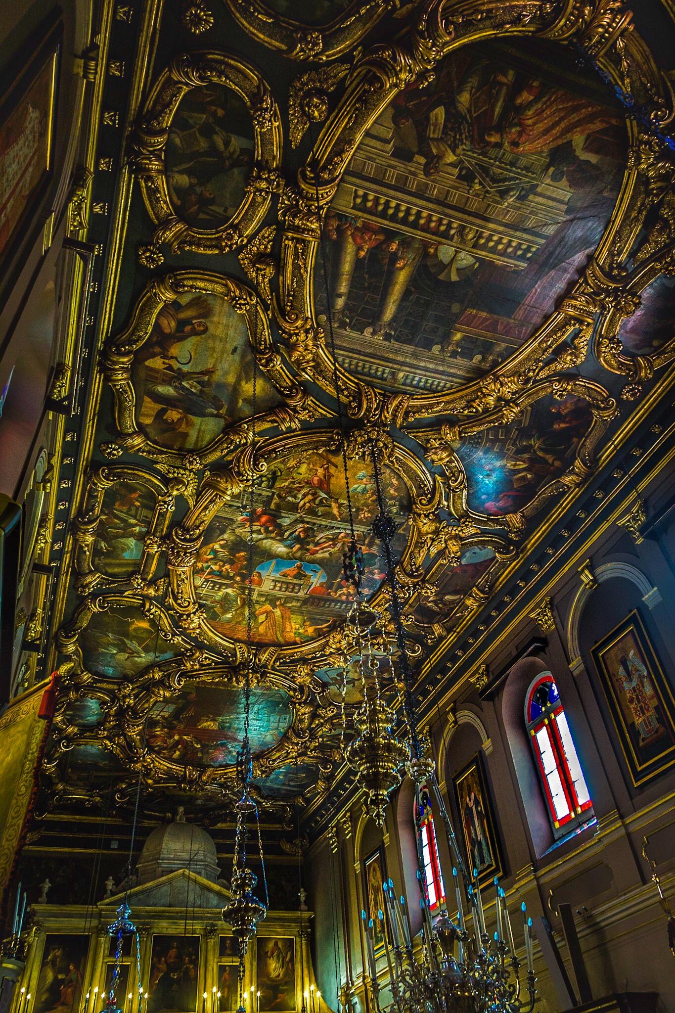 Church ceiling by Rick McEvoy interior photographer