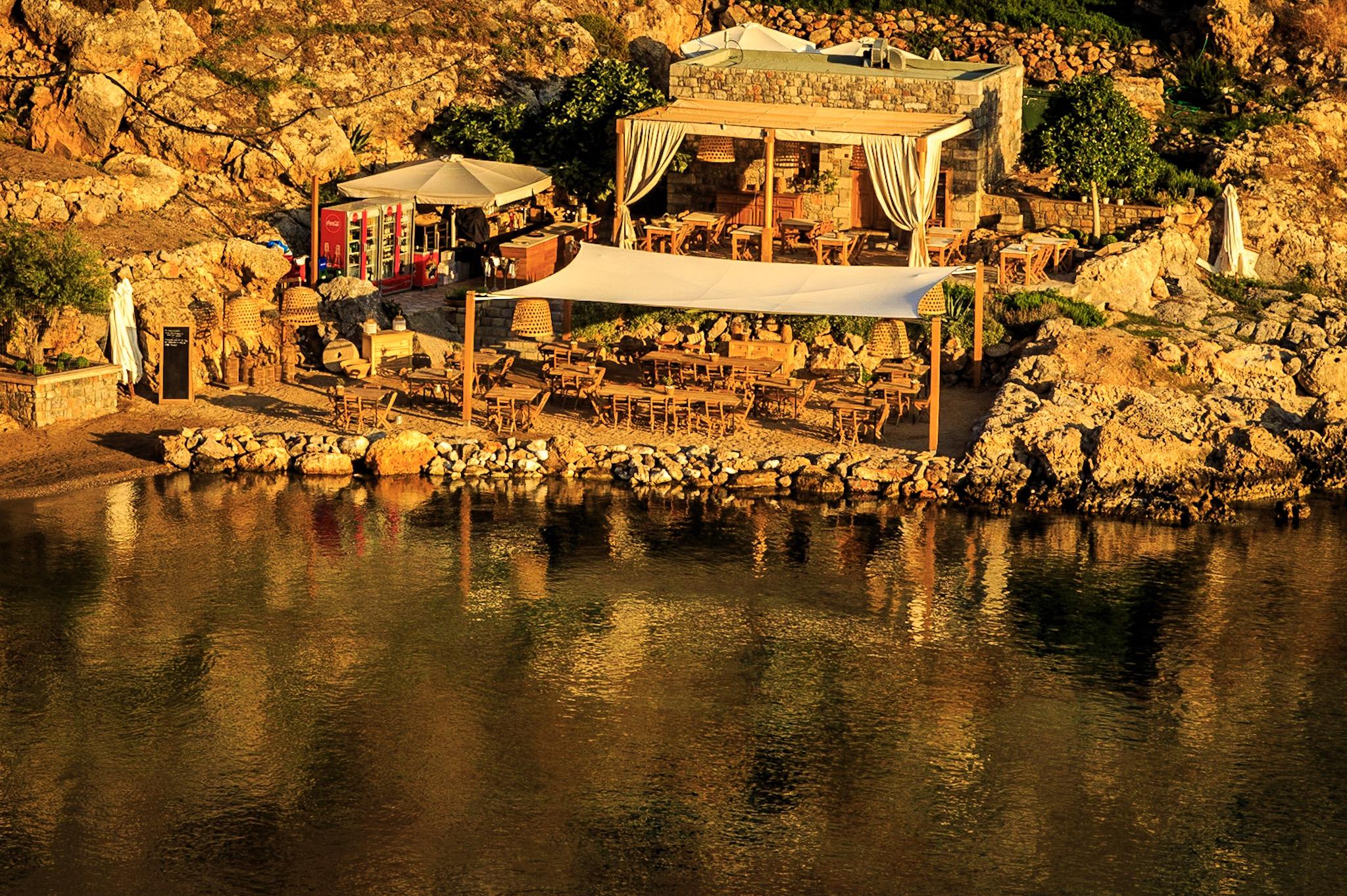 Tambakio Restaurant by Travel Photographer Rick McEvoy