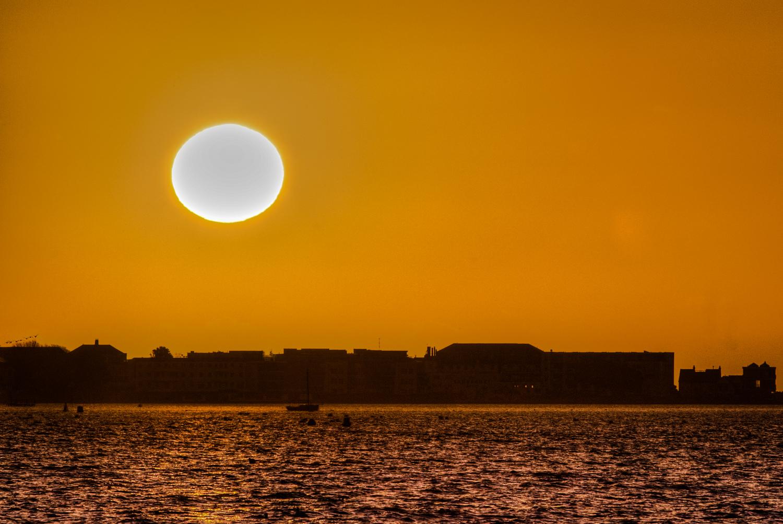Millionaires Row at sunrise by Rick McEvoy Sandbanks Photographer