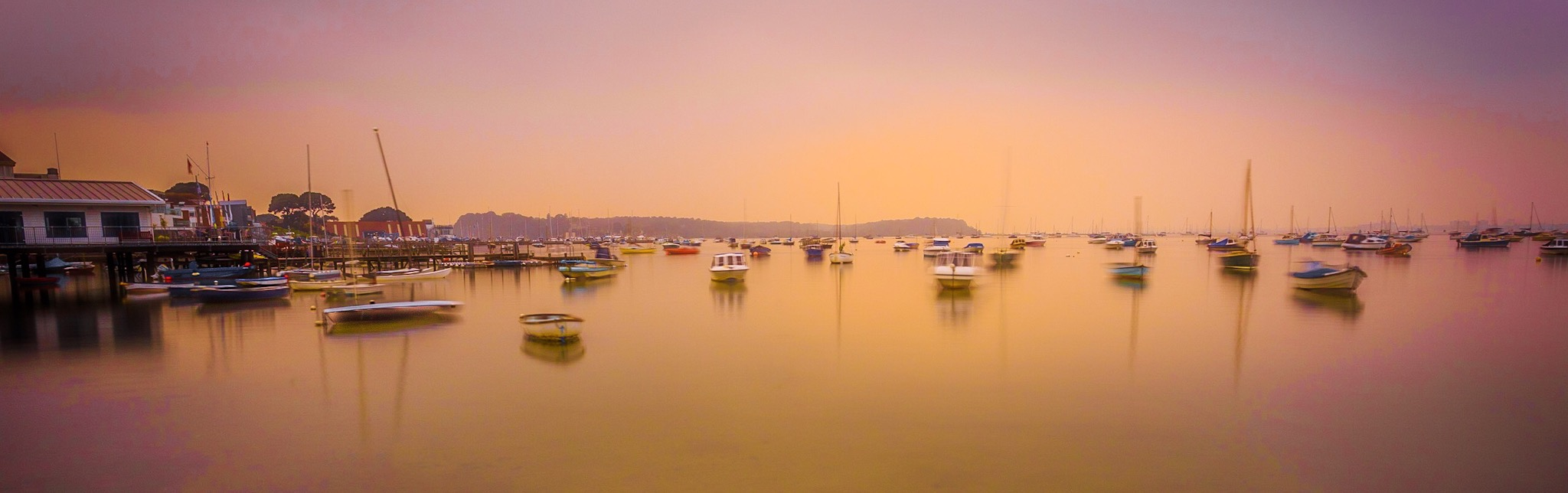 The crop to produce the panoramic picture of Sandbanks