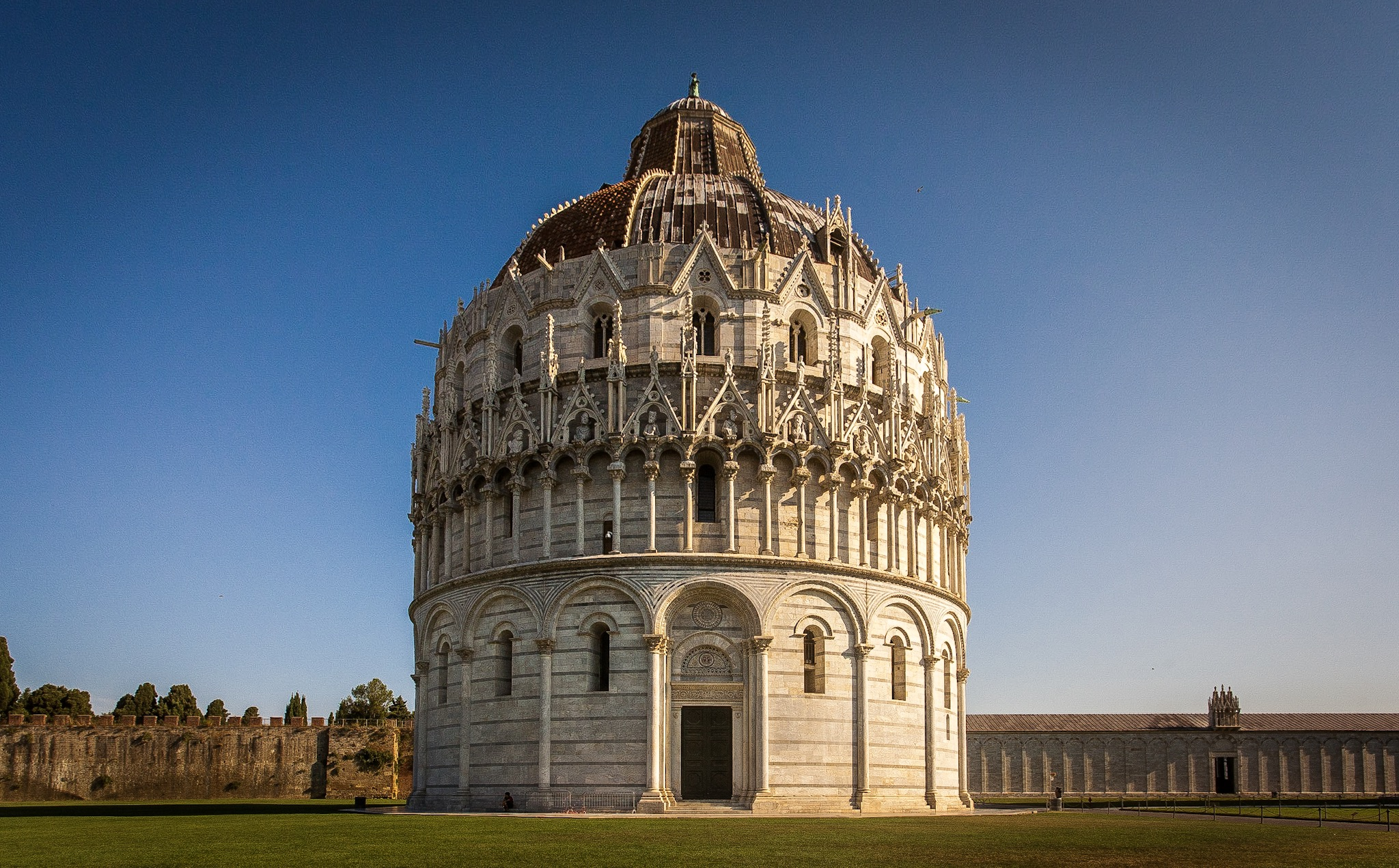 Battistero di San Giovanni in Pisa by Rick McEvoy Architectural Photographer