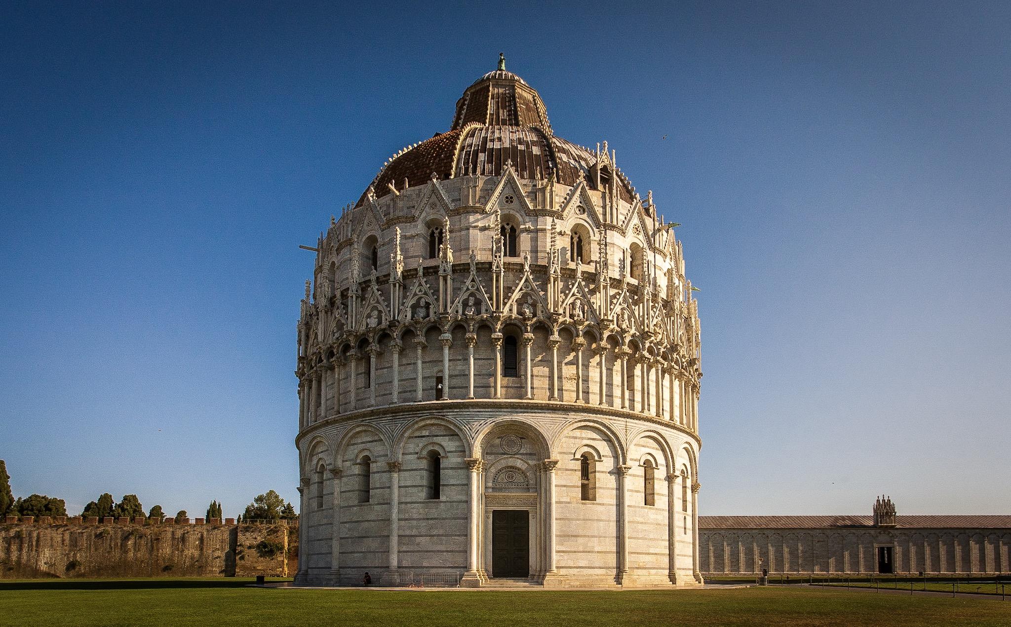 Battistero di San Giovanni in Pisa by Rick McEvoy Architectural Photographer