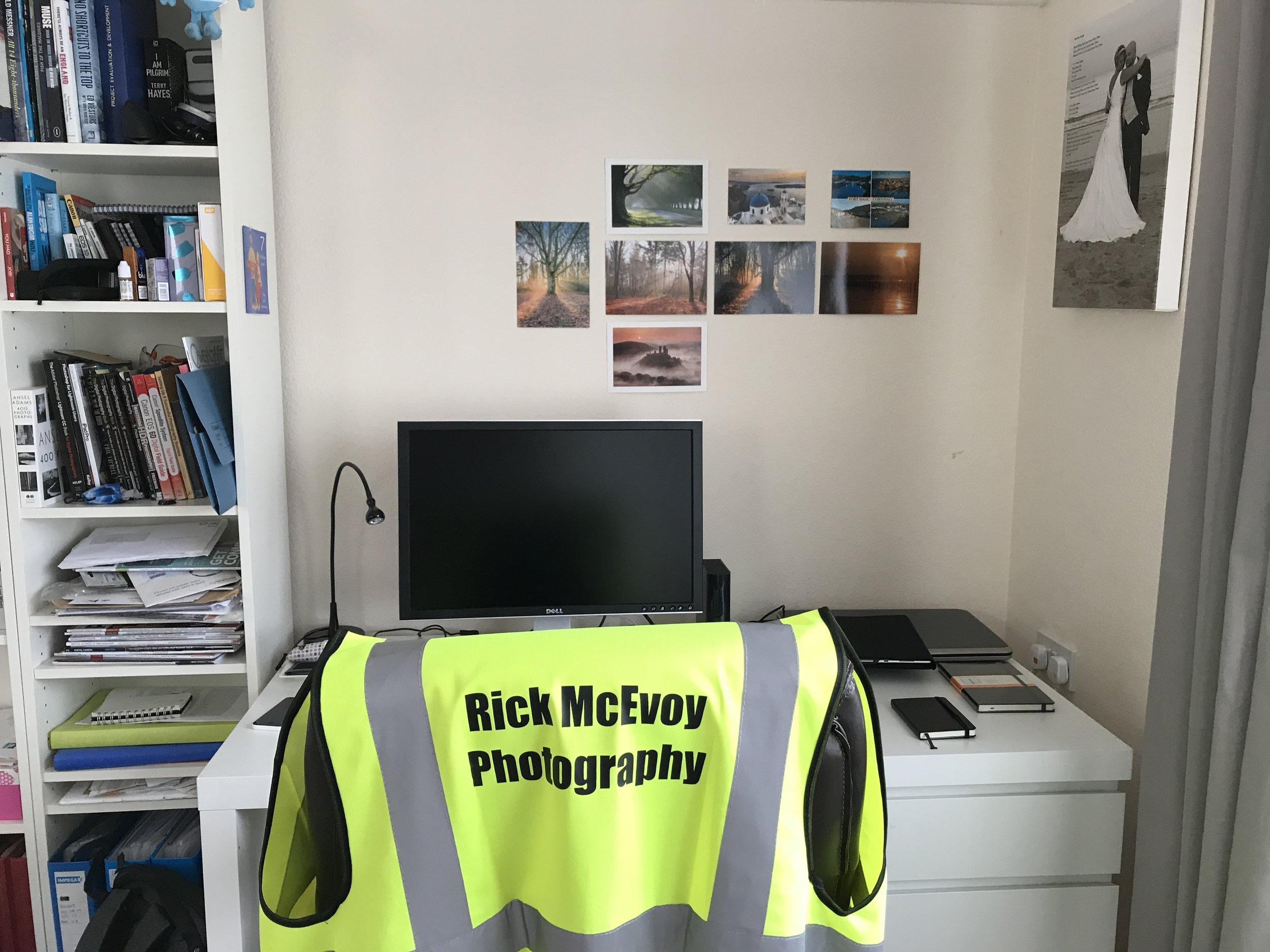 Rick McEvoy Photography personalised clothing