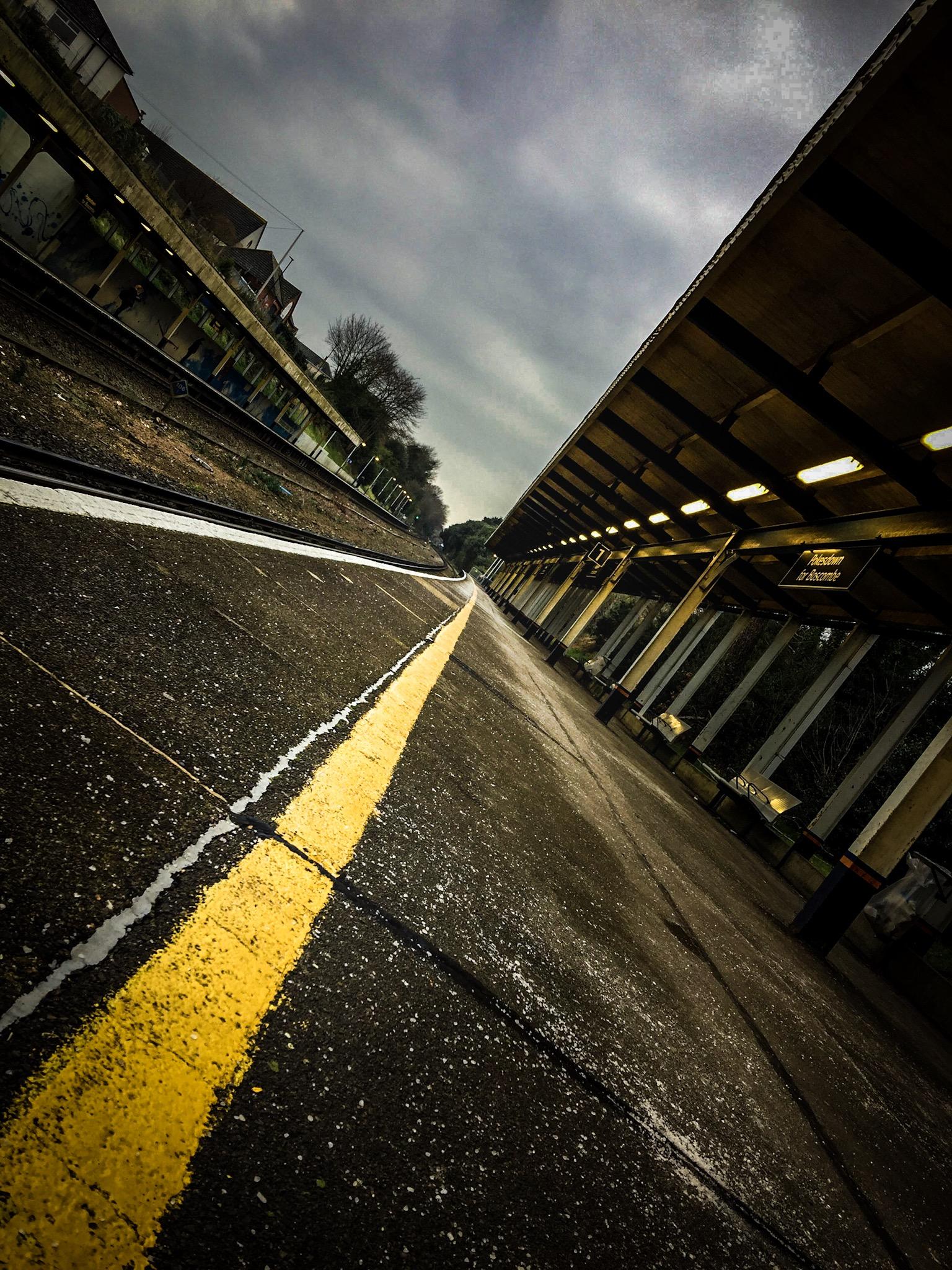 Pokesdown Station by Bournemouth Photographer Rick McEvoy