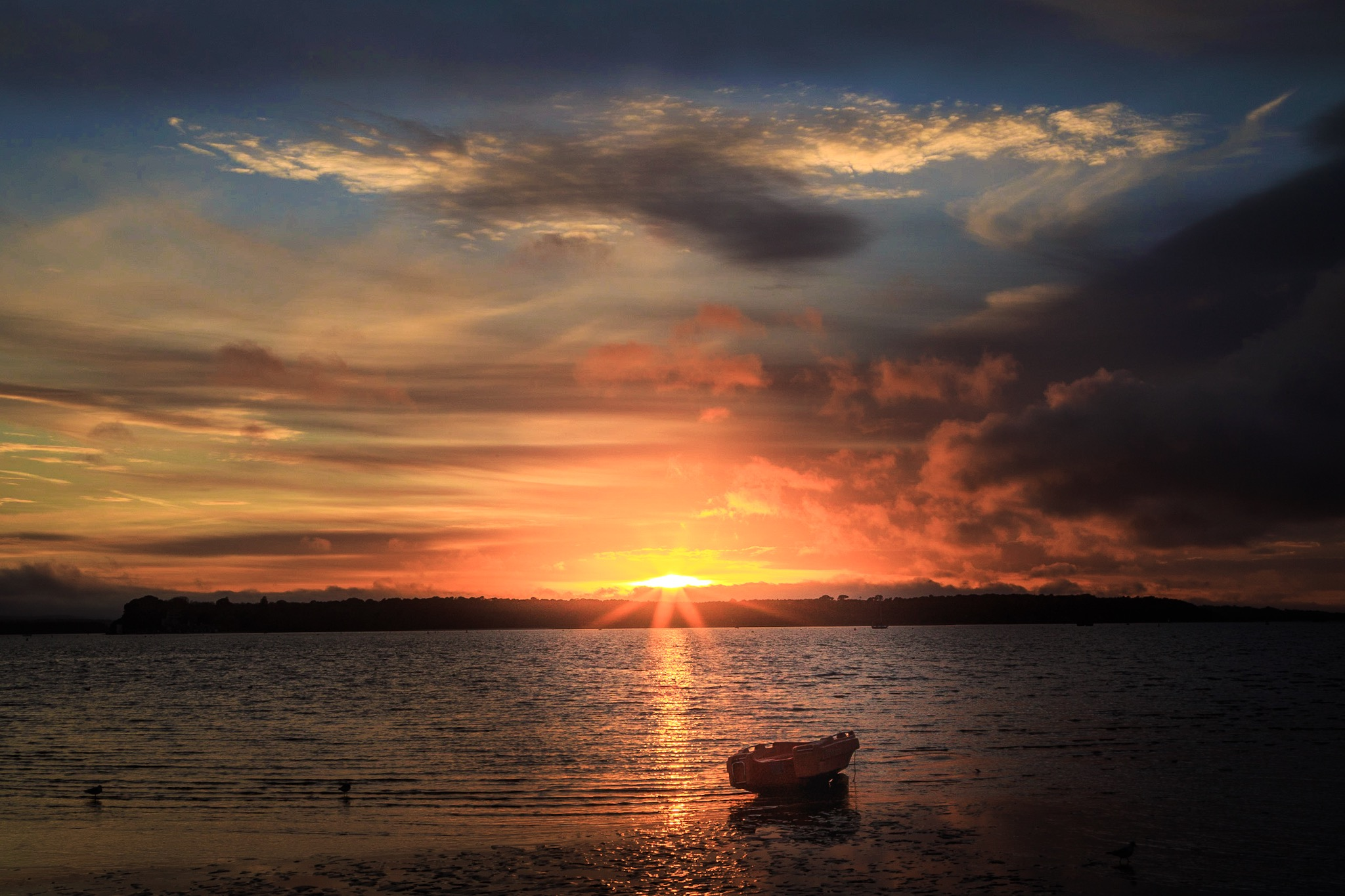 Sunset at Sandbanks by Rick McEvoy Sandbanks Photographer