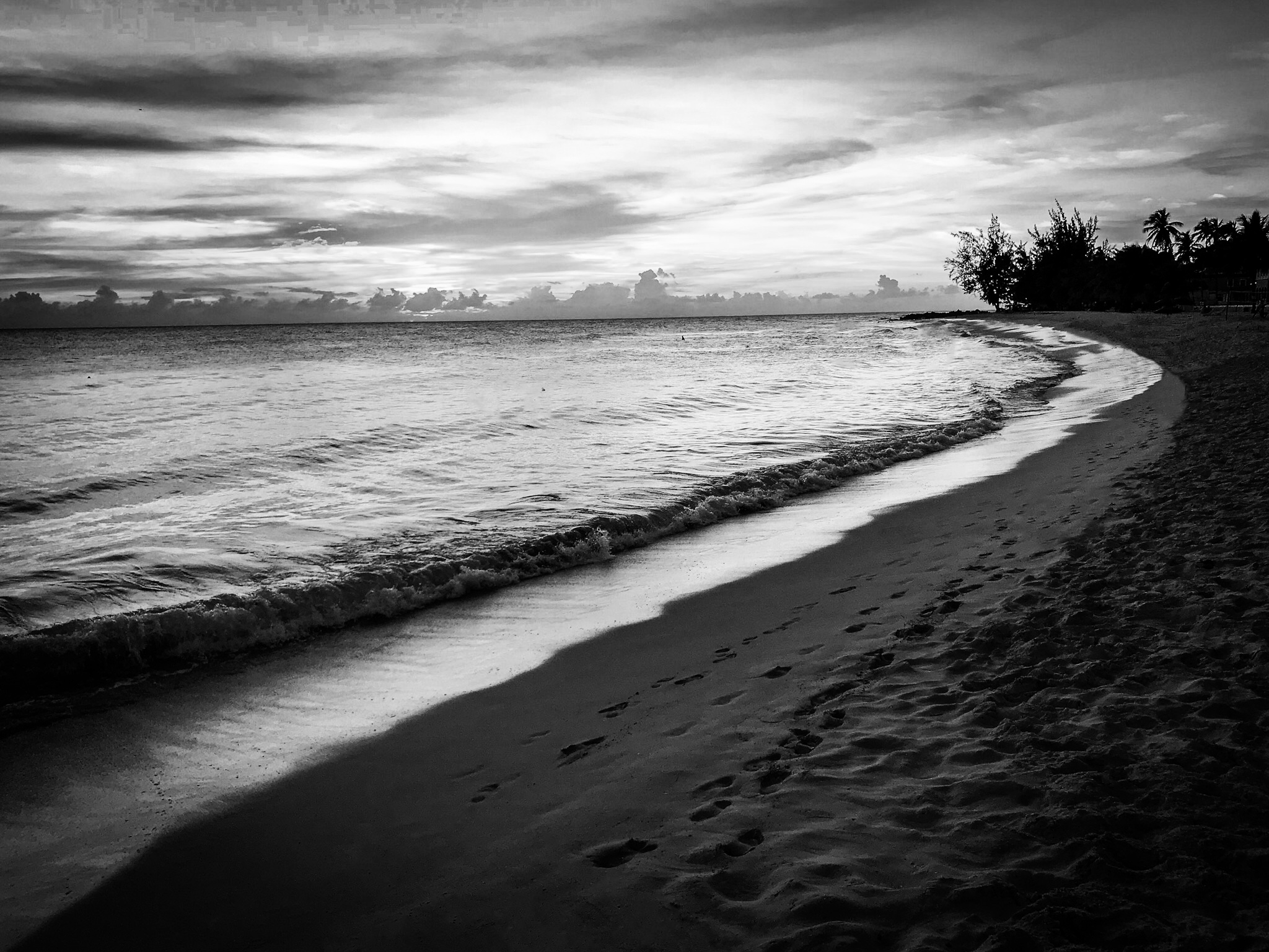 Dover Beach, Barbados by Rick McEvoy Photography