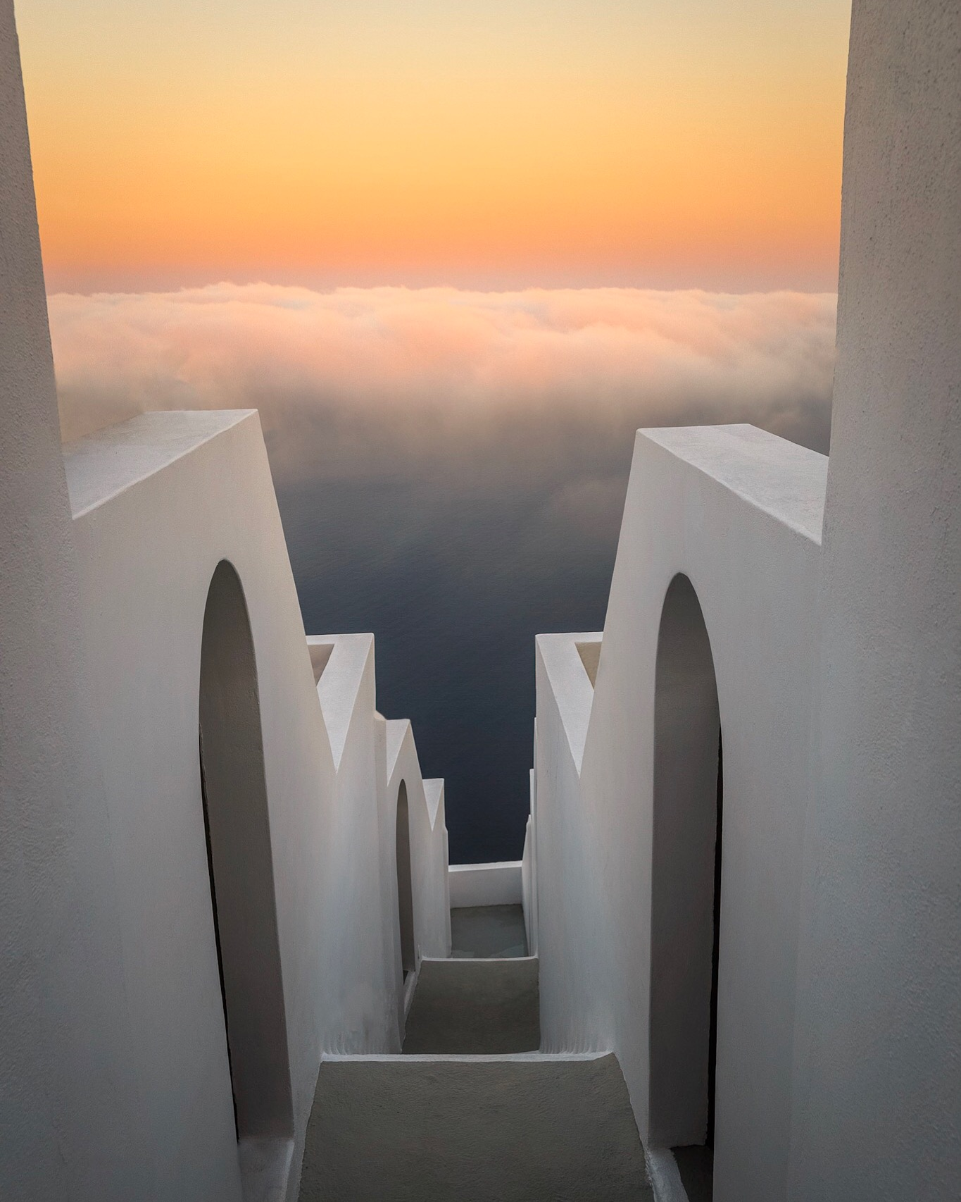 Sunrise in lovely Santorini by Travel Photographer Rick McEvoy