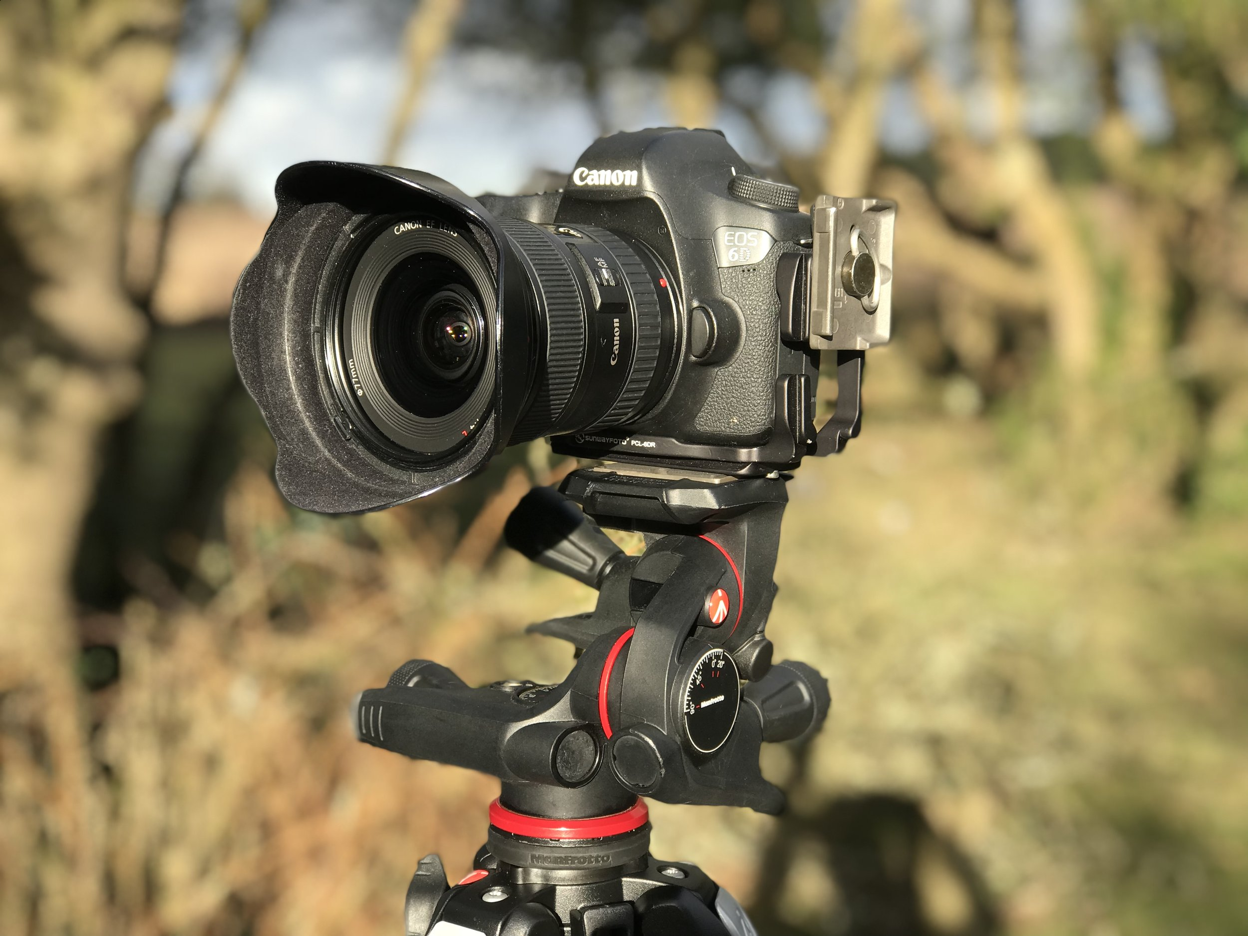 Canon 6D and Canon 17-40mm lens