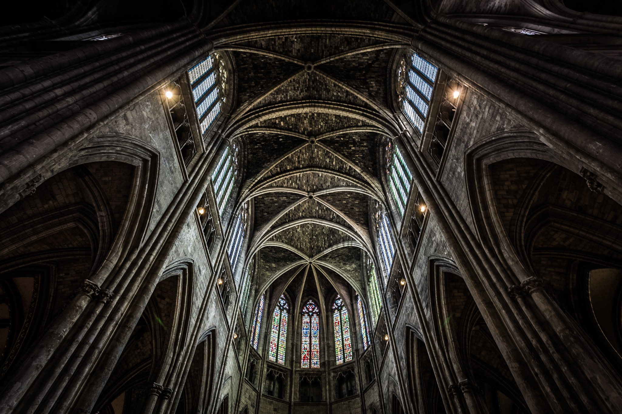 Saint-André Cathedral, Bordeaux. France. Awesome.