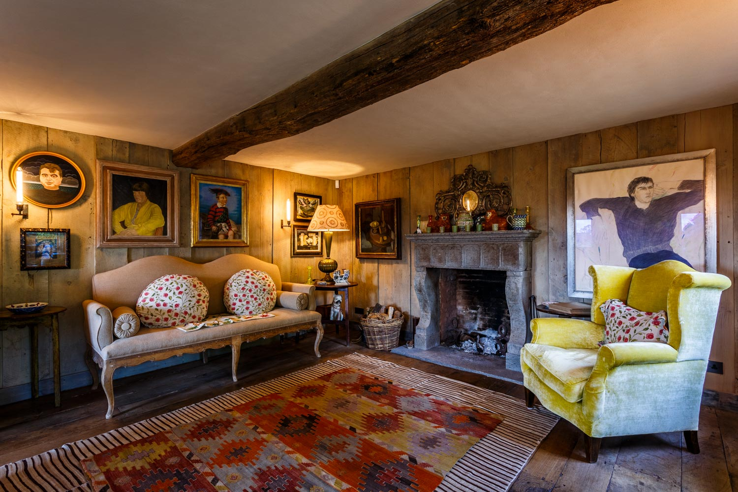 Sitting room by interior photographer Rick McEvoy