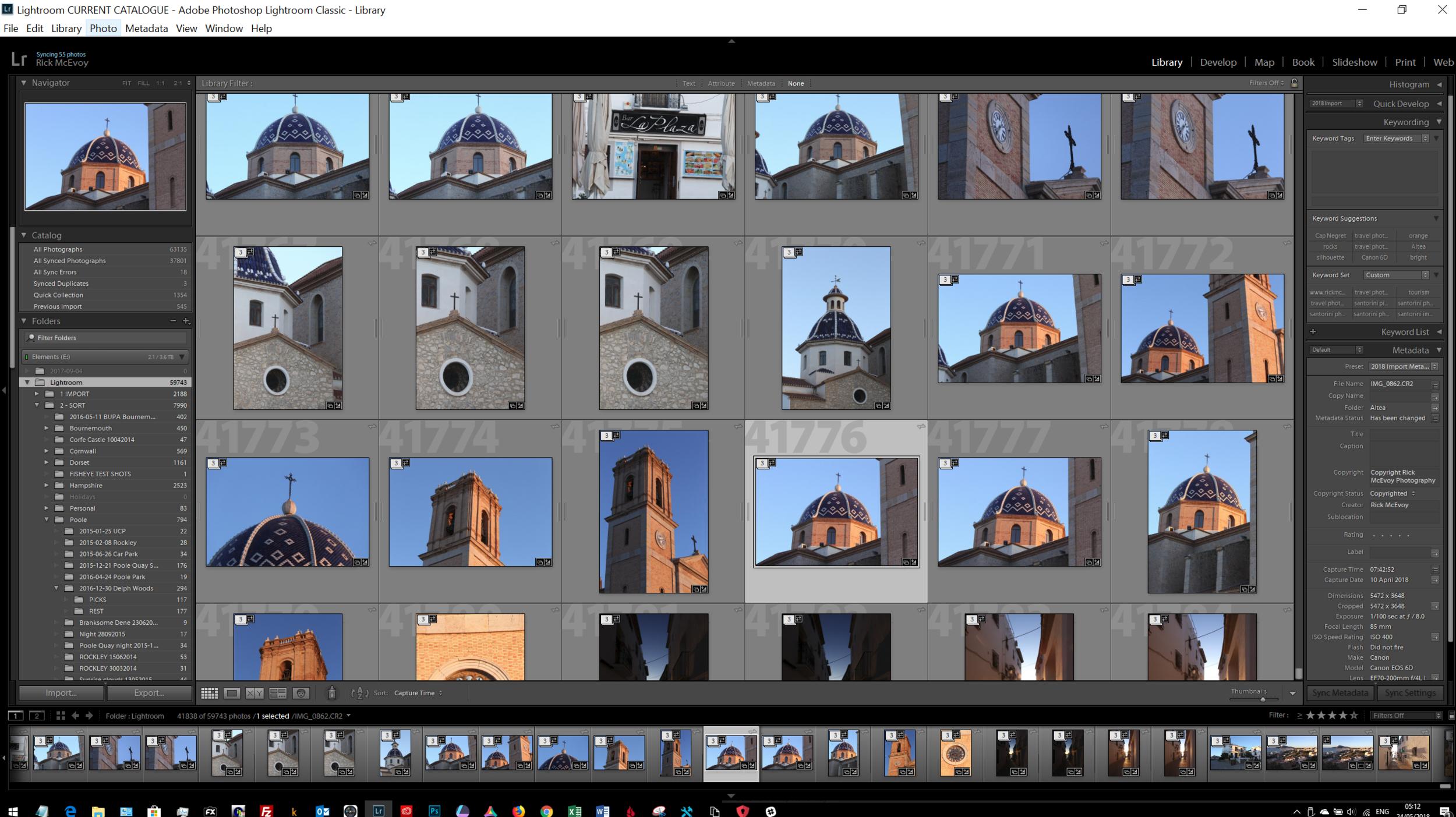 Adobe Lightroom Classic 7.3 on my PC
