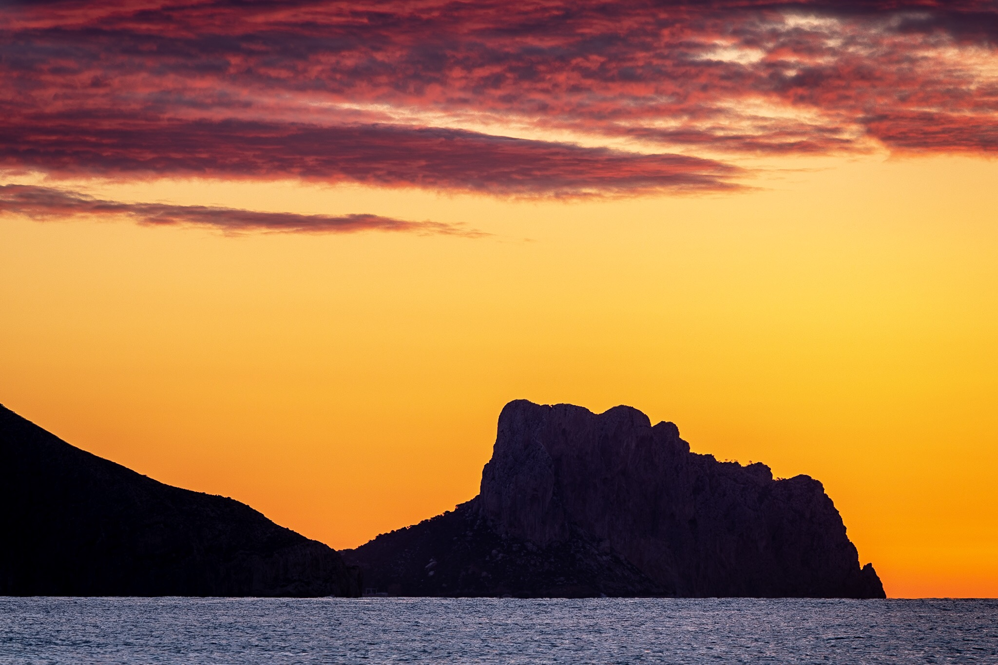 Sunrise in Altea, Spain by Rick McEvoy Travel Photographer