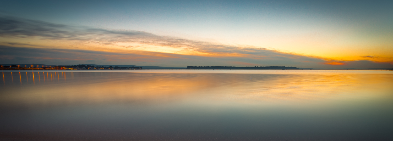 Sandbanks Panoramic Sunset by Rick Mcevoy Photography.jpg