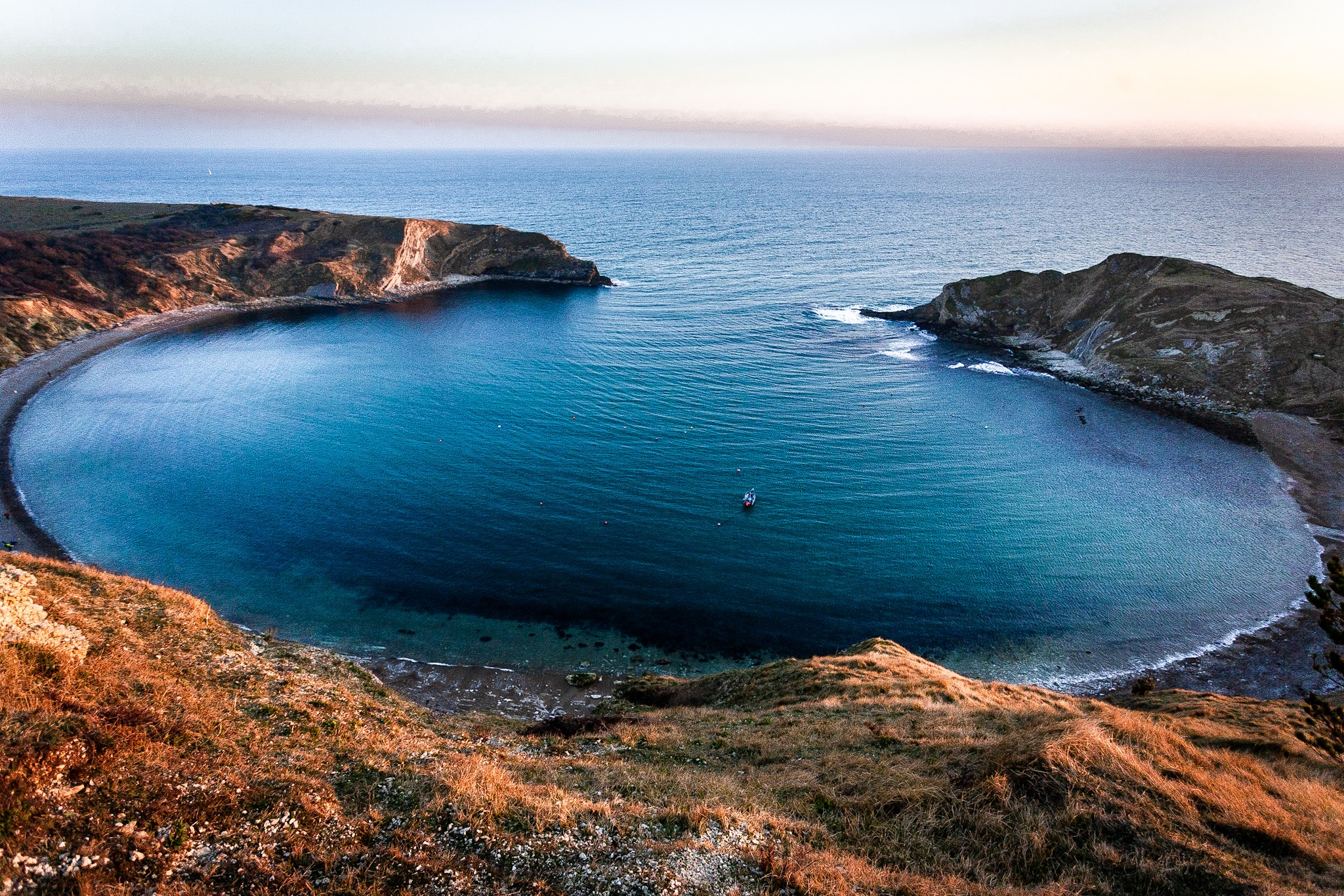 Lulworth Cove by Rick McEvoy Dorset Photographer