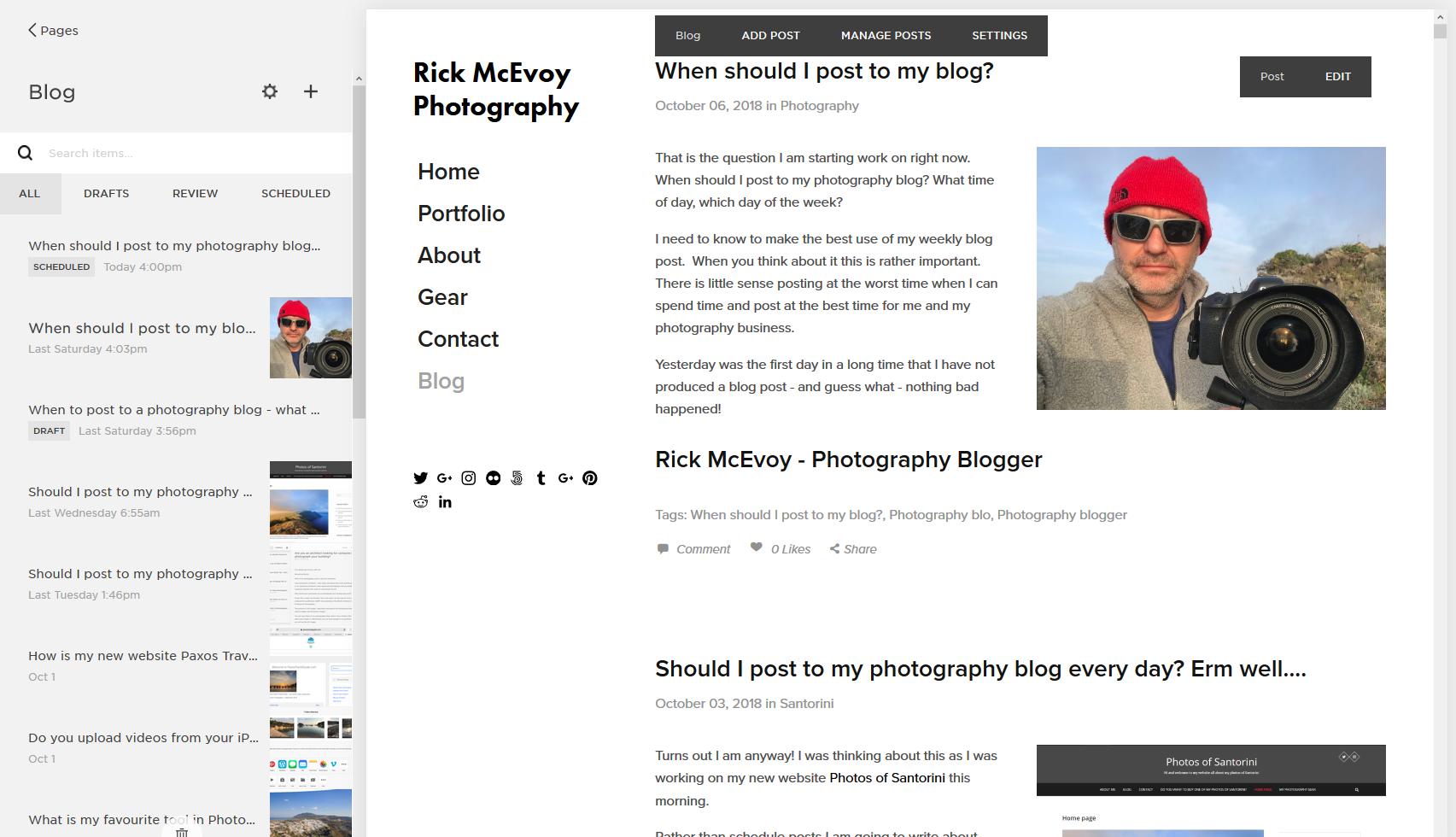 Rick McEvoy Photography Blog