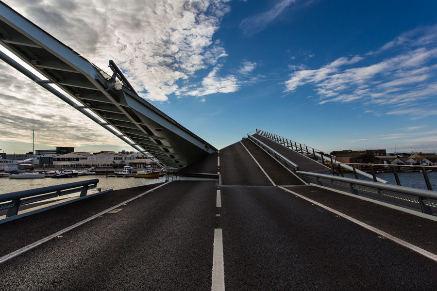 Twin Sails Bridge by Rick McEvoy Construction Photographer in Po