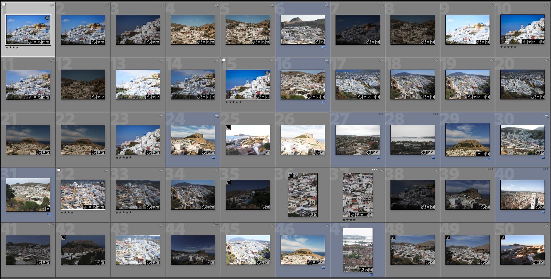 50 white buildings screenshot