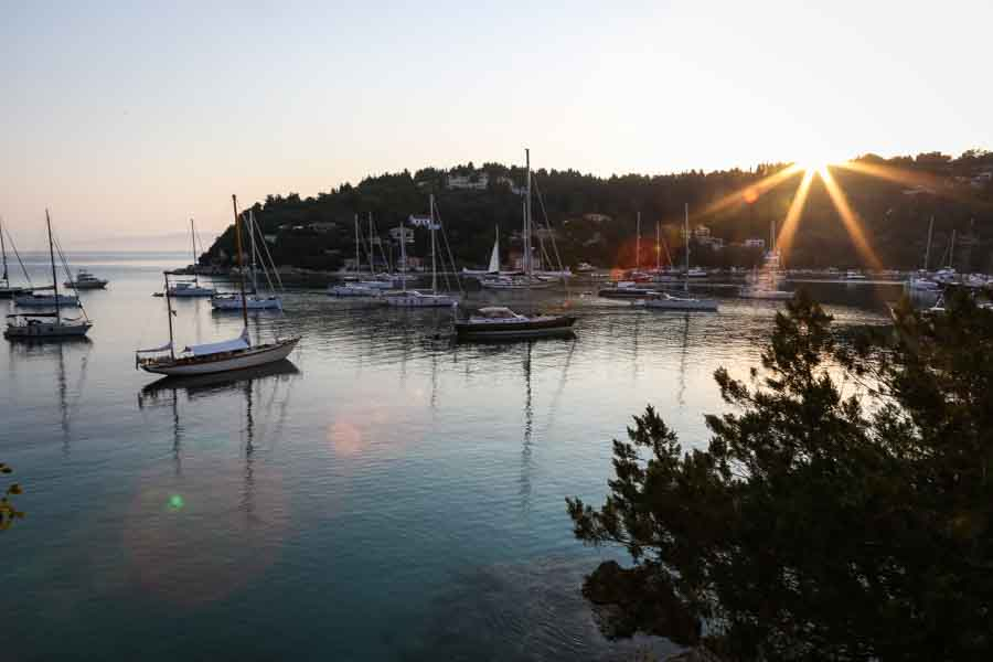 Sunrise in Lakka - JPEG file
