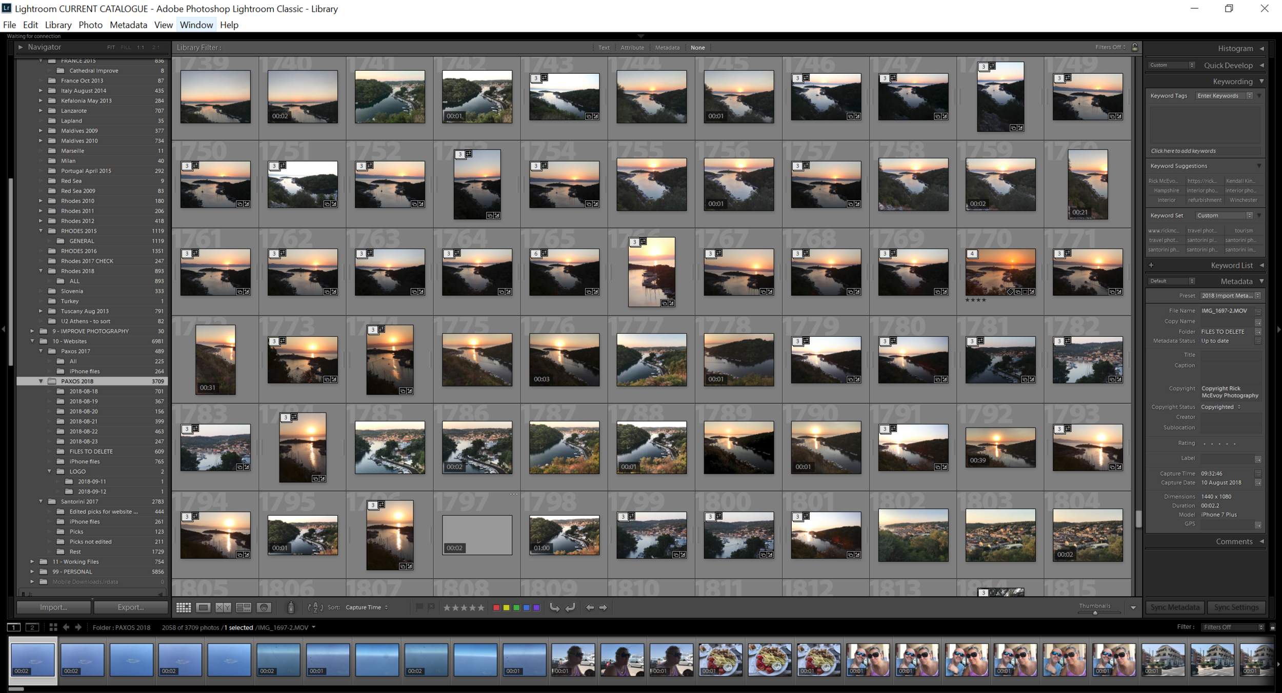 This is what Lightroom Classic looks like