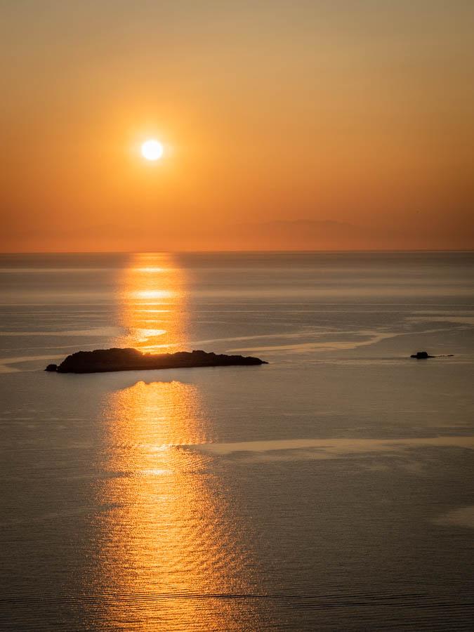 Rhodes sunrise by Rick McEvoy
