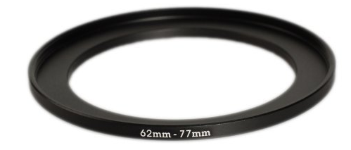 Filter step up ring - photo from Amazon