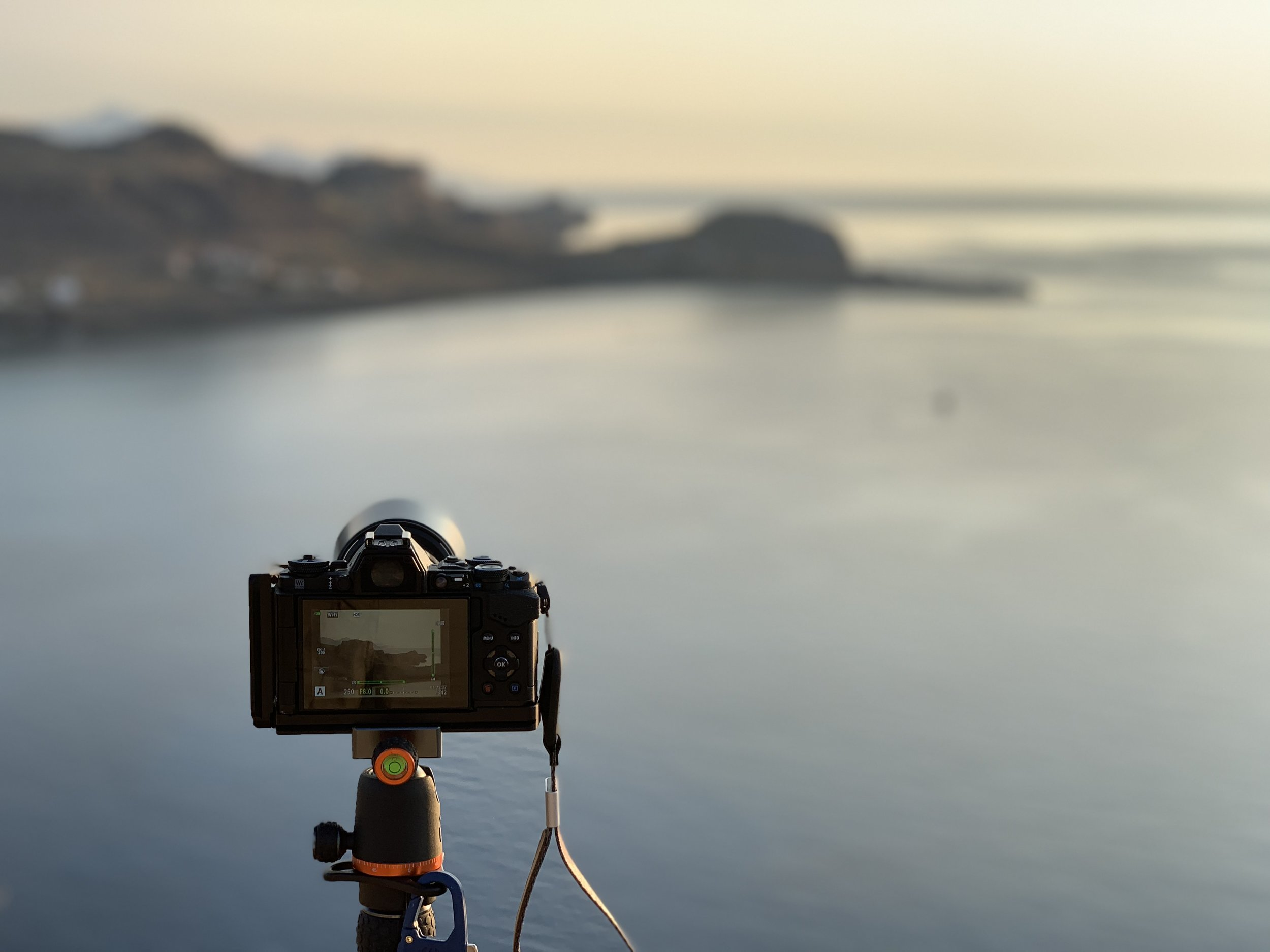 Olympus OMD EM5 Mk2 on location in Rhodes Greece