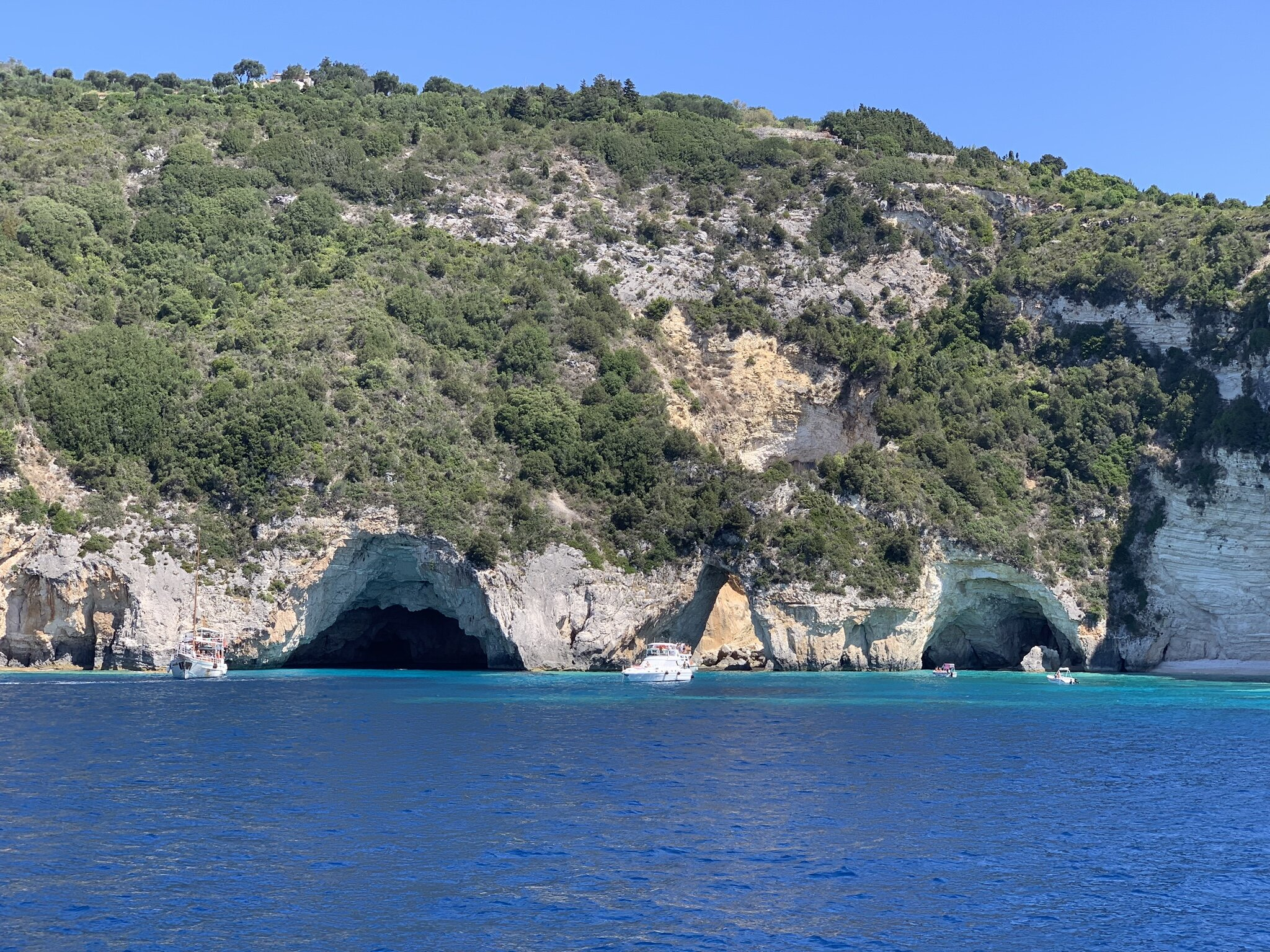 The Blue Caves of Paxos