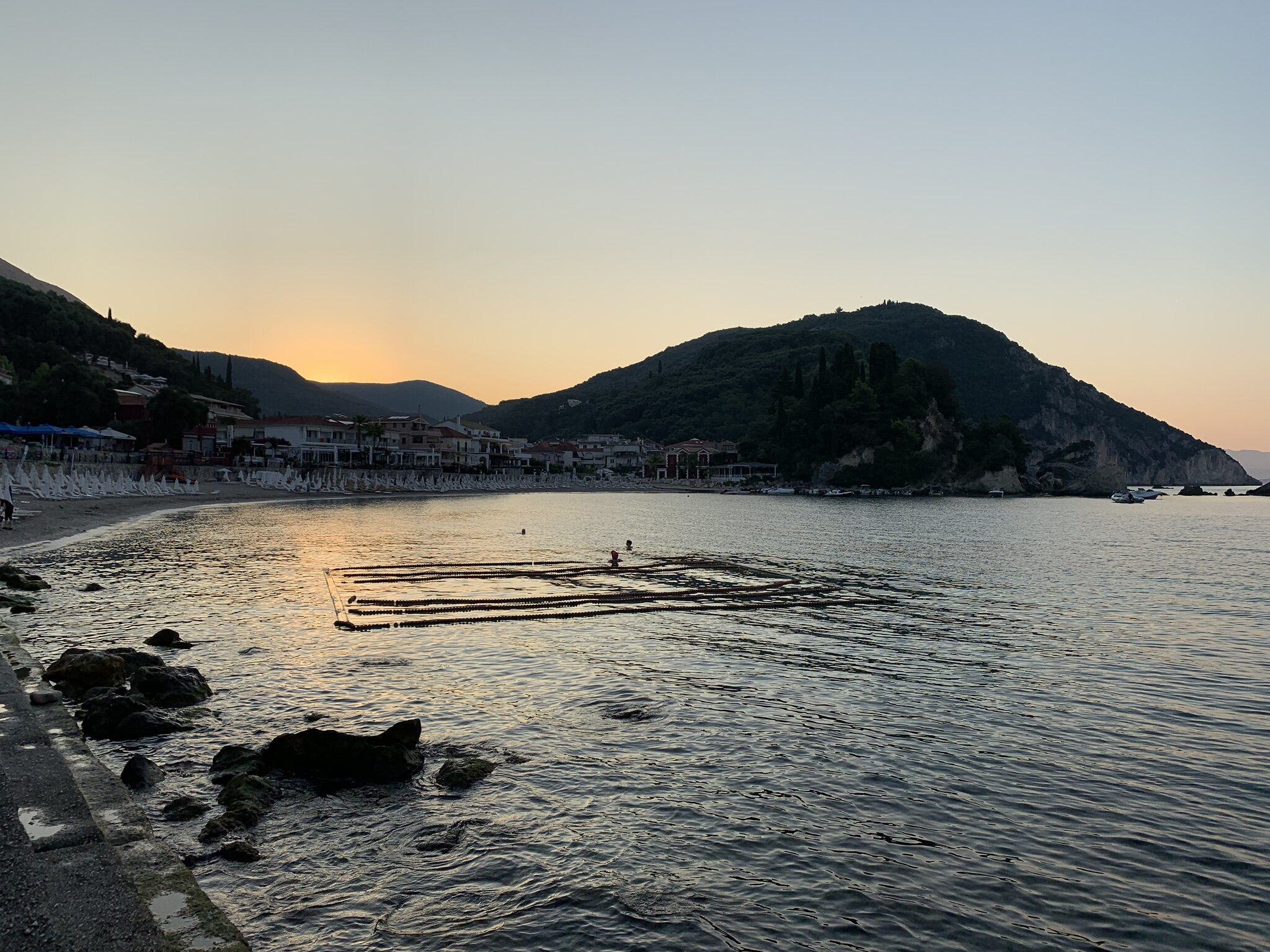 Sunrise in Parga Greece