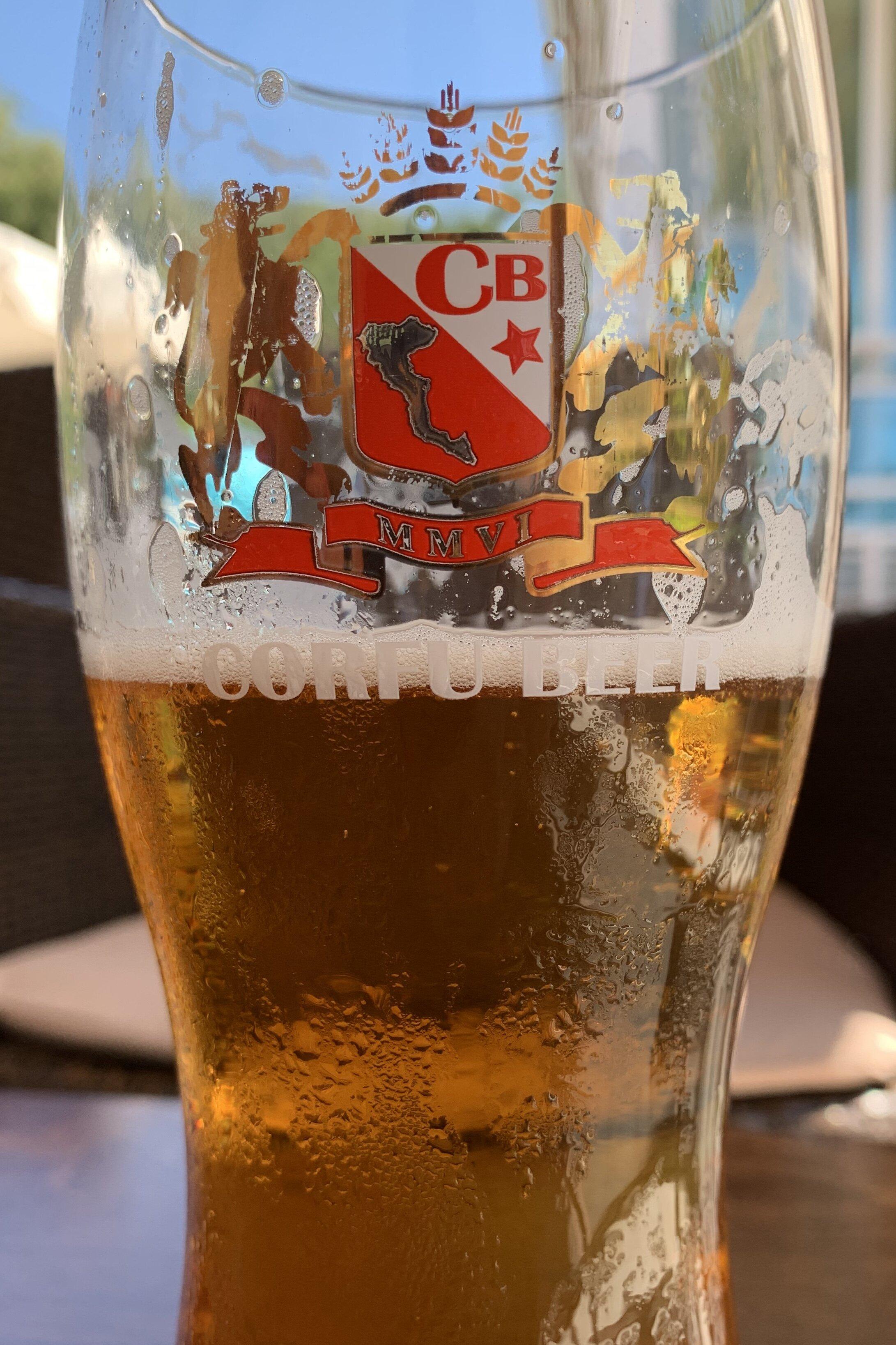 Corfu Town beer