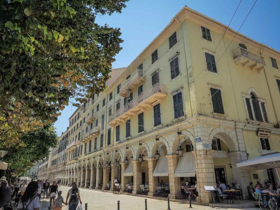 The Liston in Corfu Town