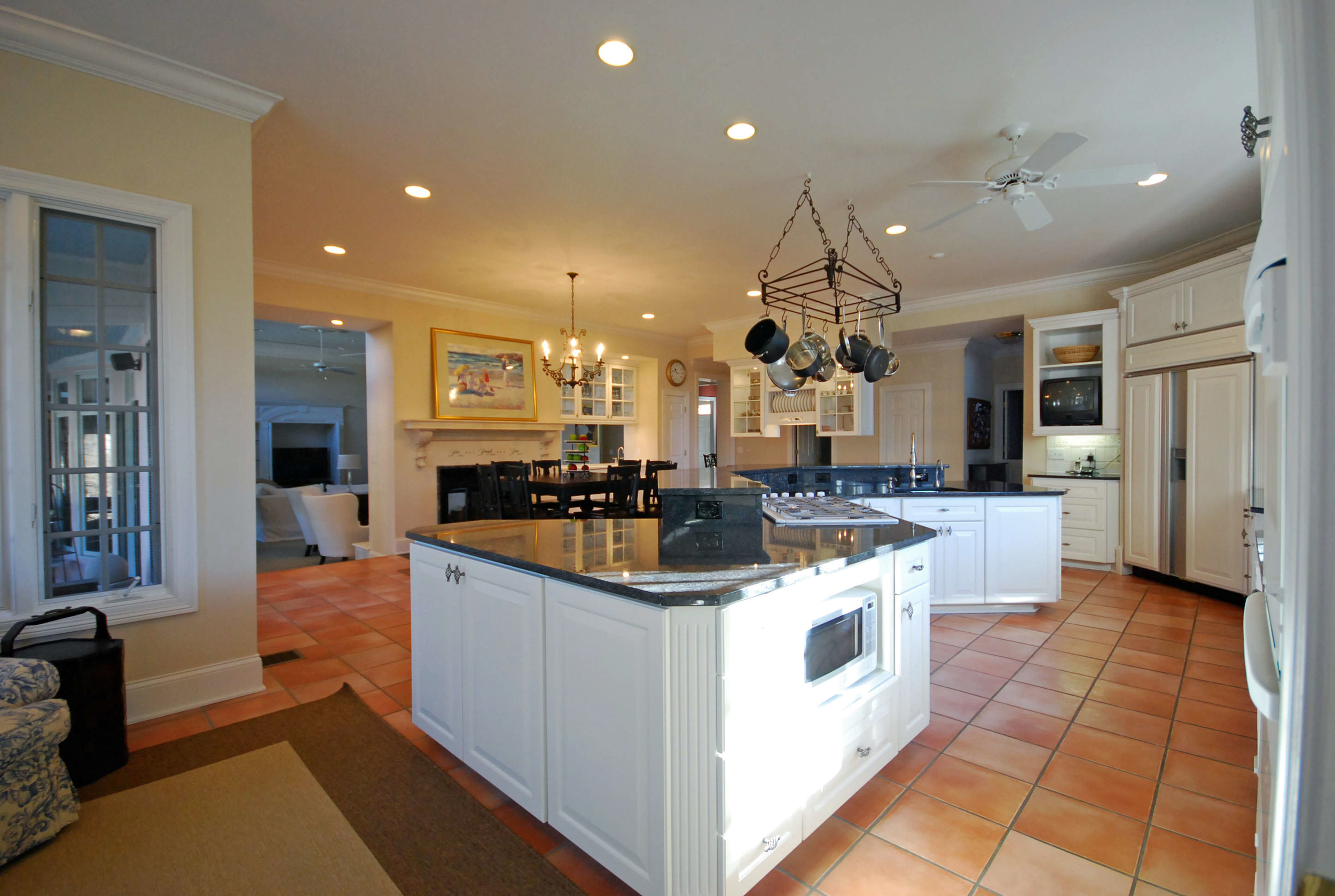 This ginormous, sexy kitchen was inside the spectacular house in Glendale Ohio, sold by our  DIGS Group at Comey and Shepherd Realtors sold it