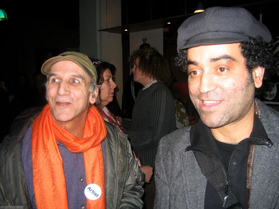 Jamal Khamis and Chokri Ben Amor enjoying Stedelijk Museum Amsterdam (Museum Night 2008)