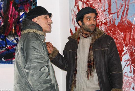 Jamal Khamis and Chokri Ben Amor at Stedelijk Museum Amsterdam (Museum Night 2008)
