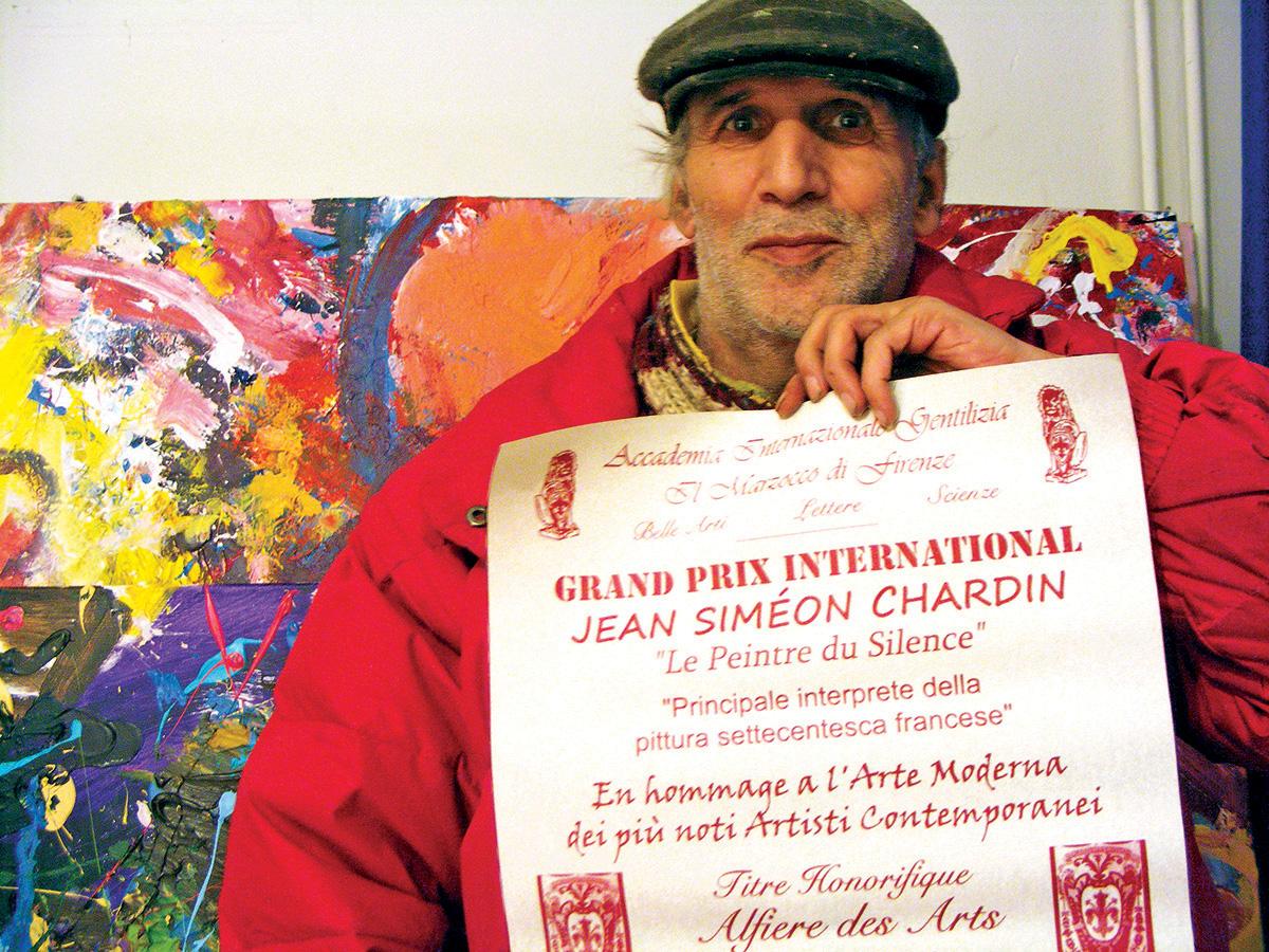 Jamal Khamis awarded Grand Prix