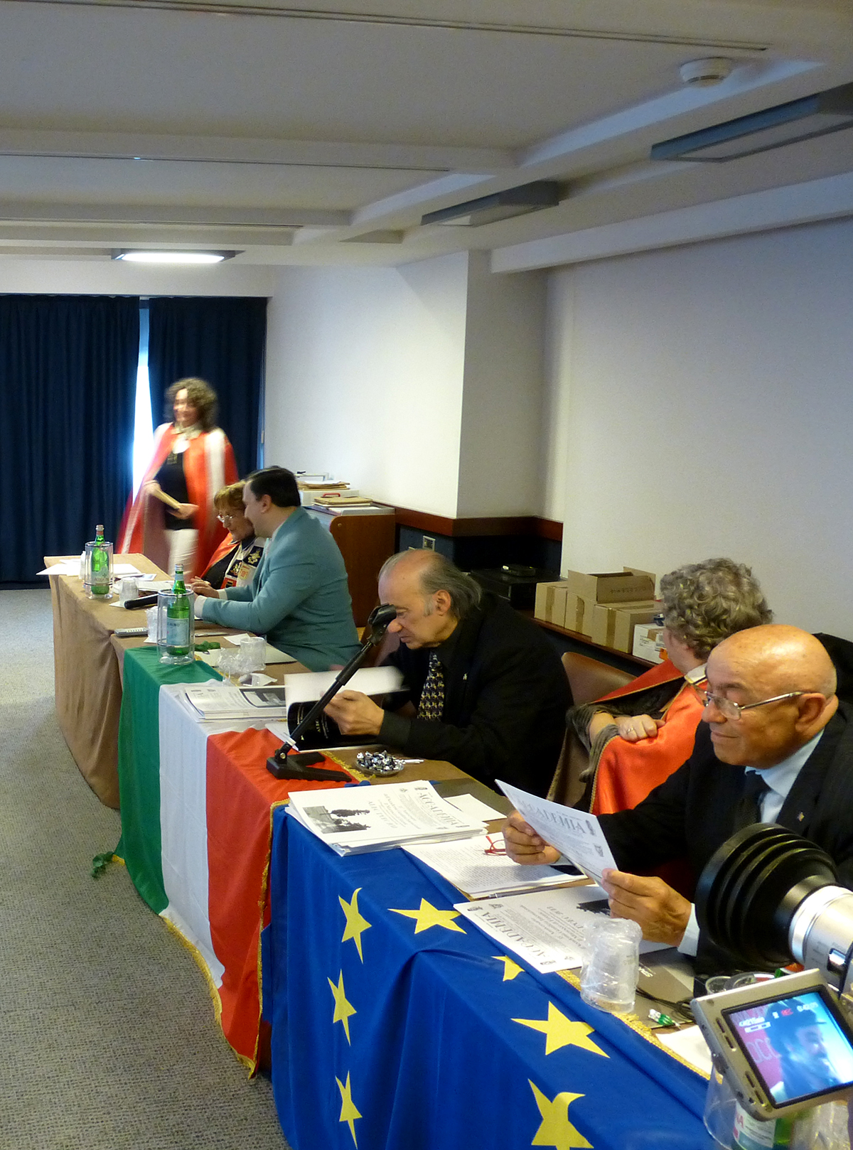 Jury of the International Grand Prix Albo D'Oro 2013